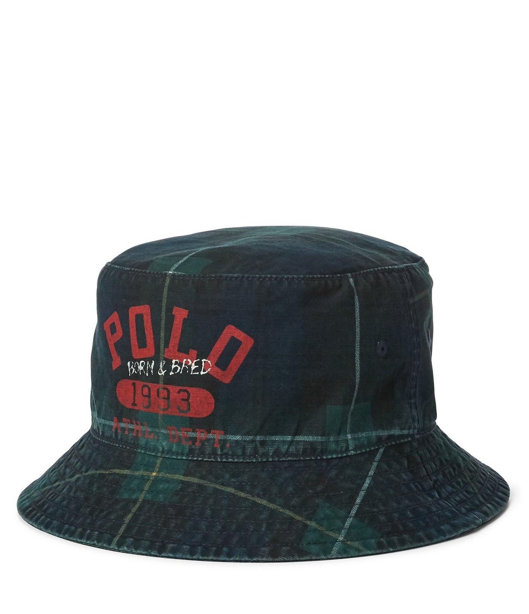 a216a885 Polo Ralph Lauren Yale Bucket Hat in Green for Men - Lyst
