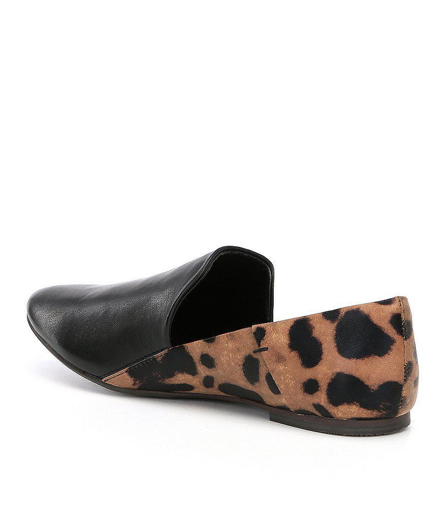 Gaga Leopard Print Loafers C74gF