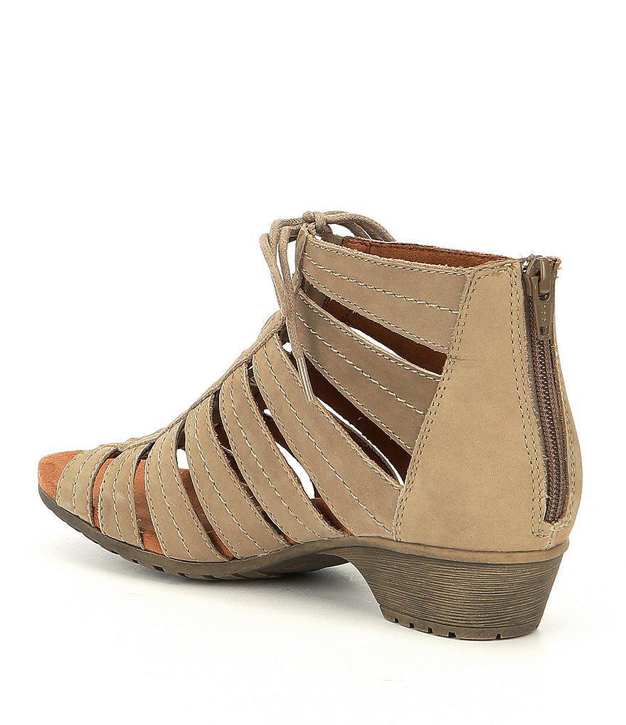 Cobb Hill Gabby Ghillie Block Heel Sandals 46i9snSSh