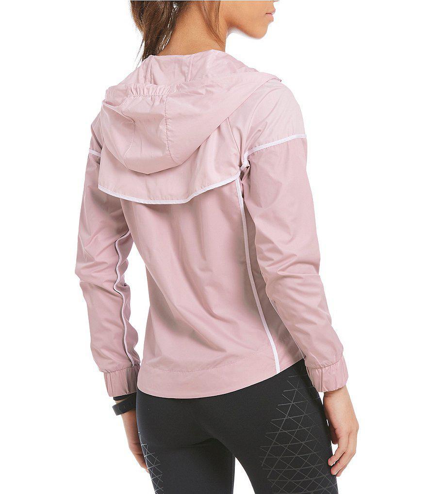 0ba39d8e94b43 Nike Sportswear Windrunner Jacket in Pink - Lyst