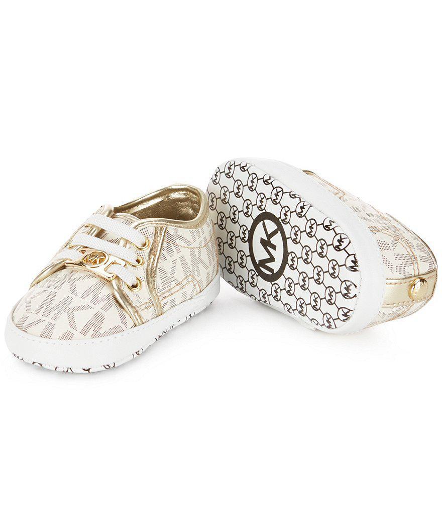 cf10b47f4fae MICHAEL Michael Kors Baby Borium Crib Shoes - Lyst