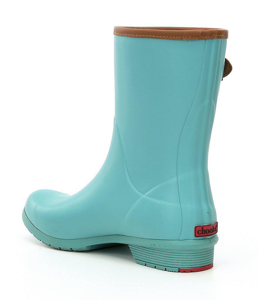 Chooka City Solid Mid Waterproof Rain Boots X55IAOU