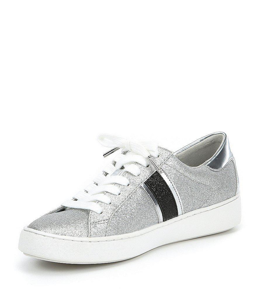 Keaton Glitter Metallic Stripe Sneakers UolNVt