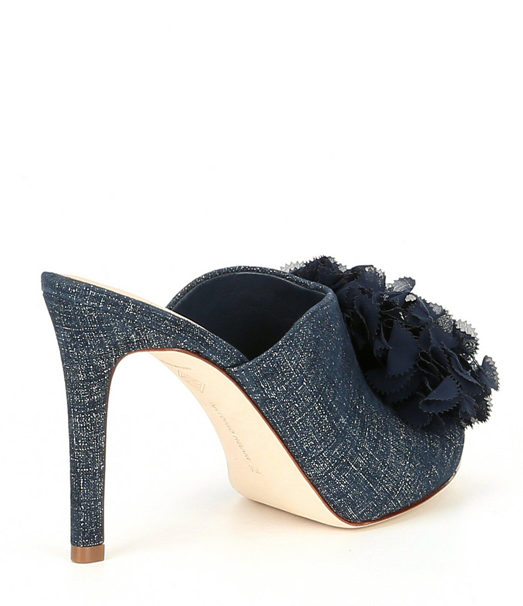 322de04f080 Antonio Melani - Blue Koribela Leather Dress Mules - Lyst. View fullscreen