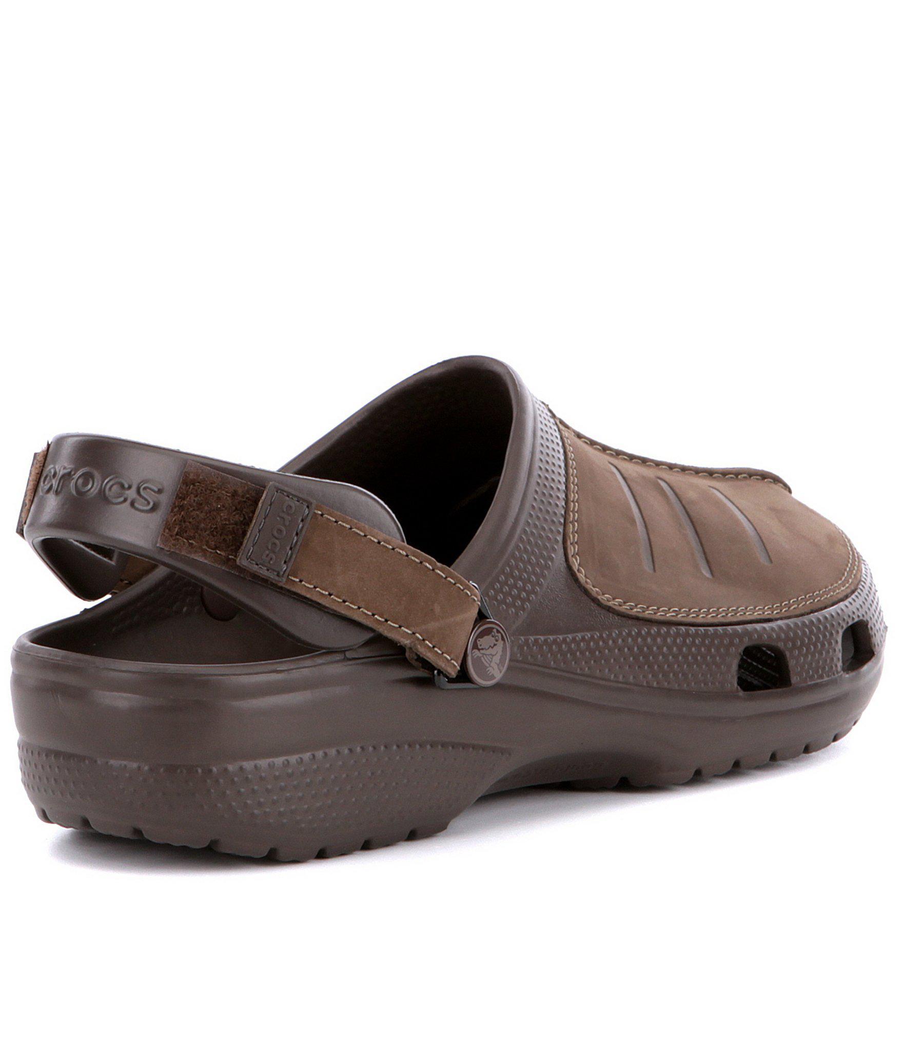 e457f2559 Crocs™ - Brown Men s Yukon Mesa Clogs for Men - Lyst. View fullscreen