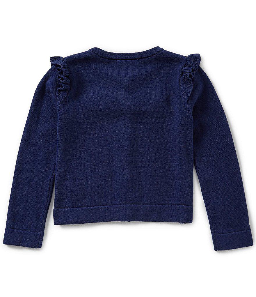 ccc920bb0 Lyst - Kate Spade Baby Girl 12 - 24 Months Ruffle Cardigan in Blue