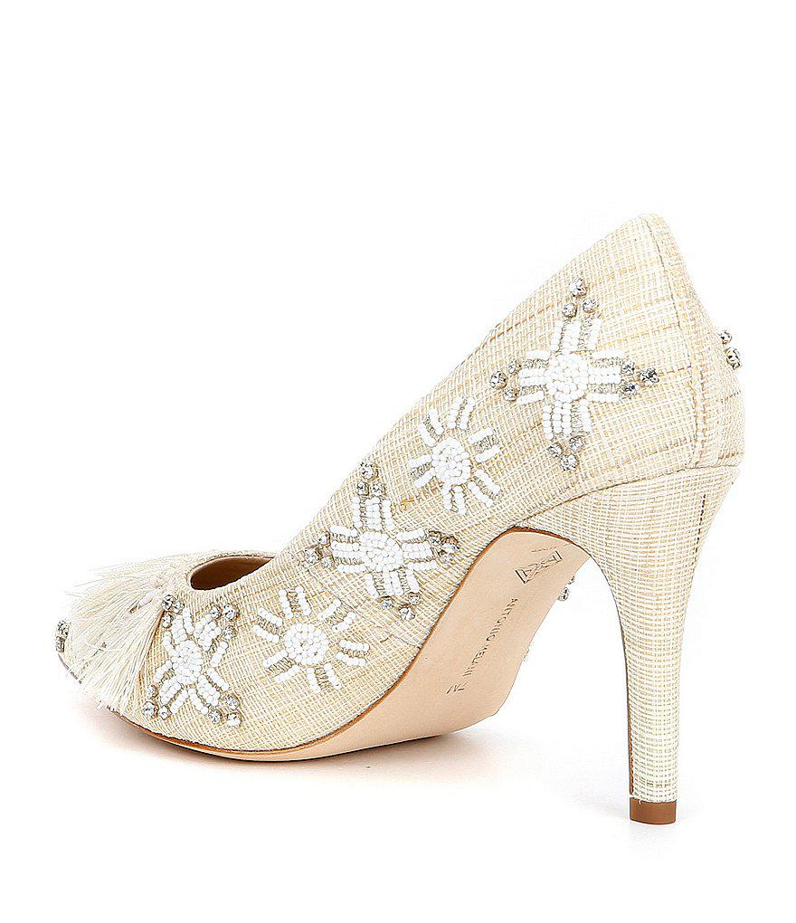 Monicha Beaded Embroidered Dress Pumps dDbmOH8