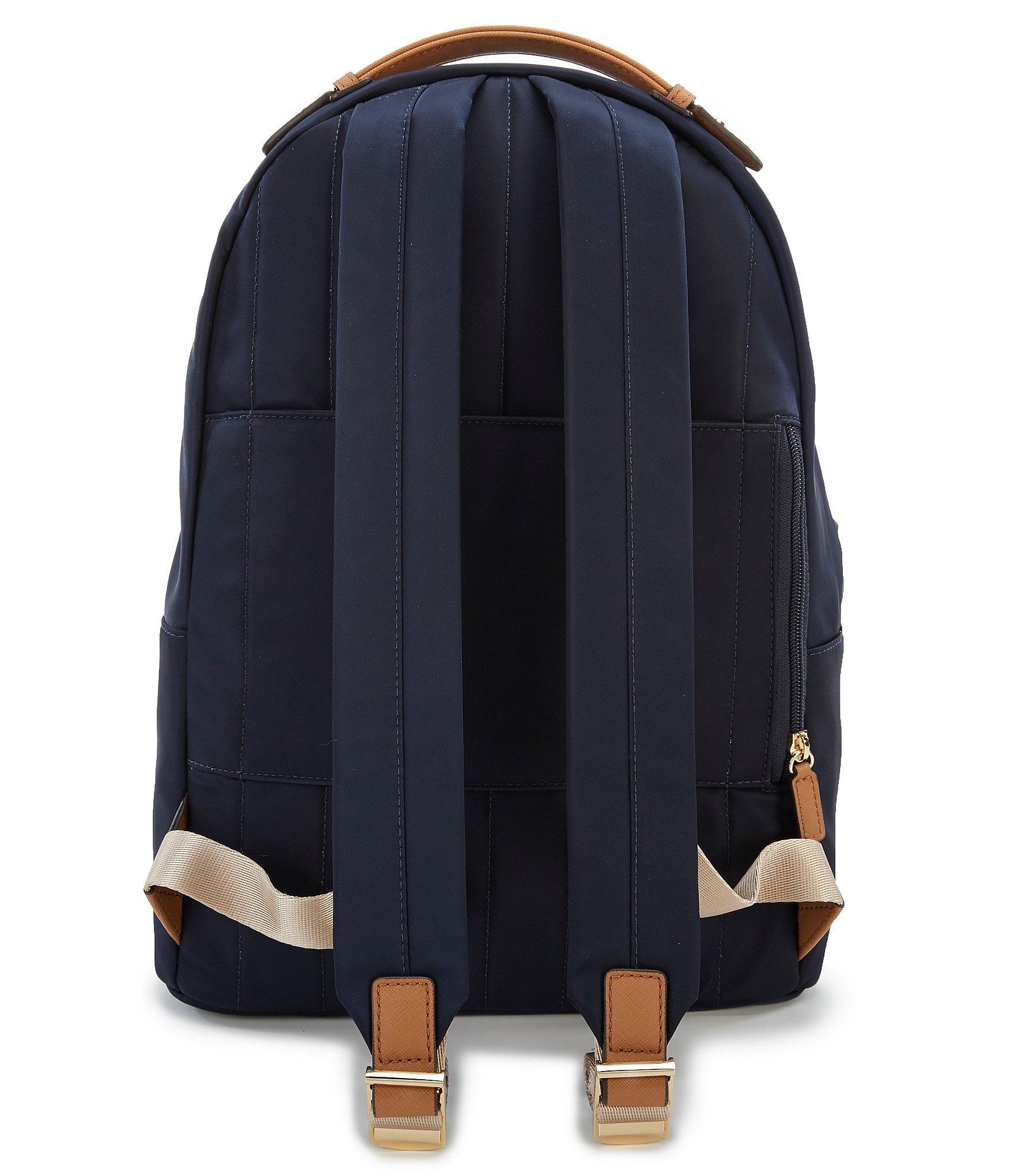 b896dcdbef22 MICHAEL Michael Kors - Blue Kelsey Nylon Large Backpack - Lyst. View  fullscreen