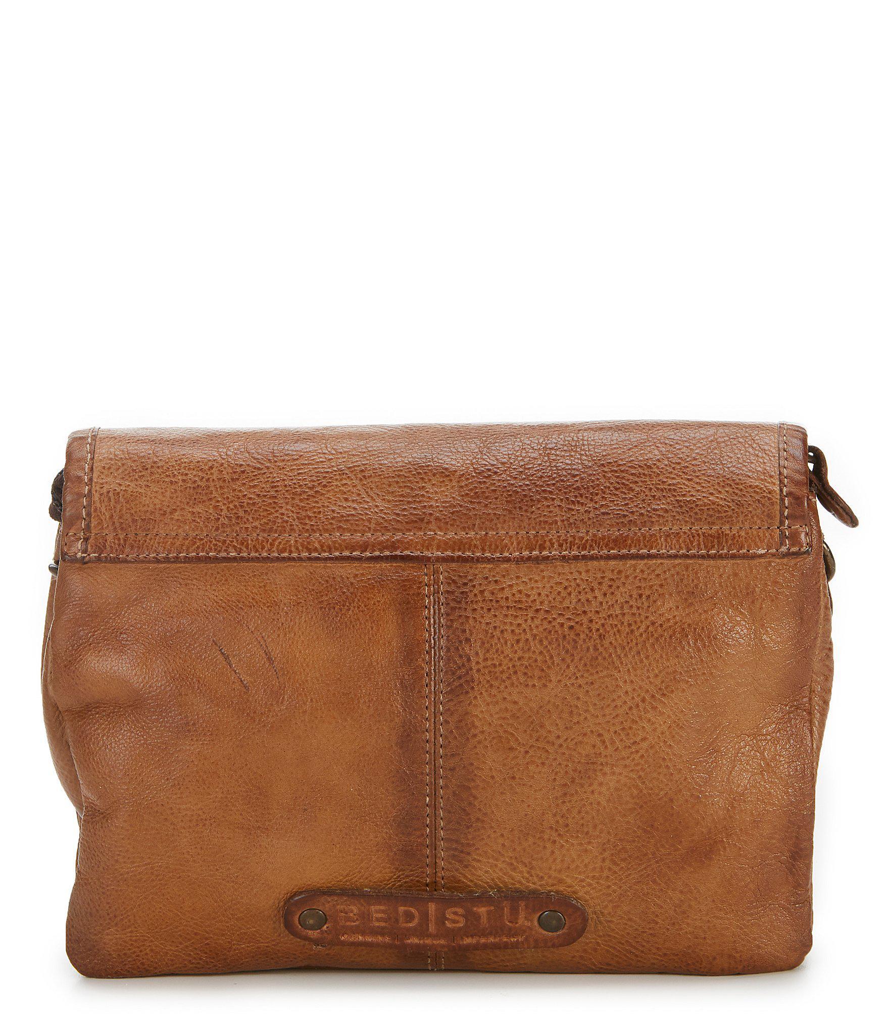 Lyst - Bed Stu Ziggy Cross-body Bag in Brown 516cde5b32b63