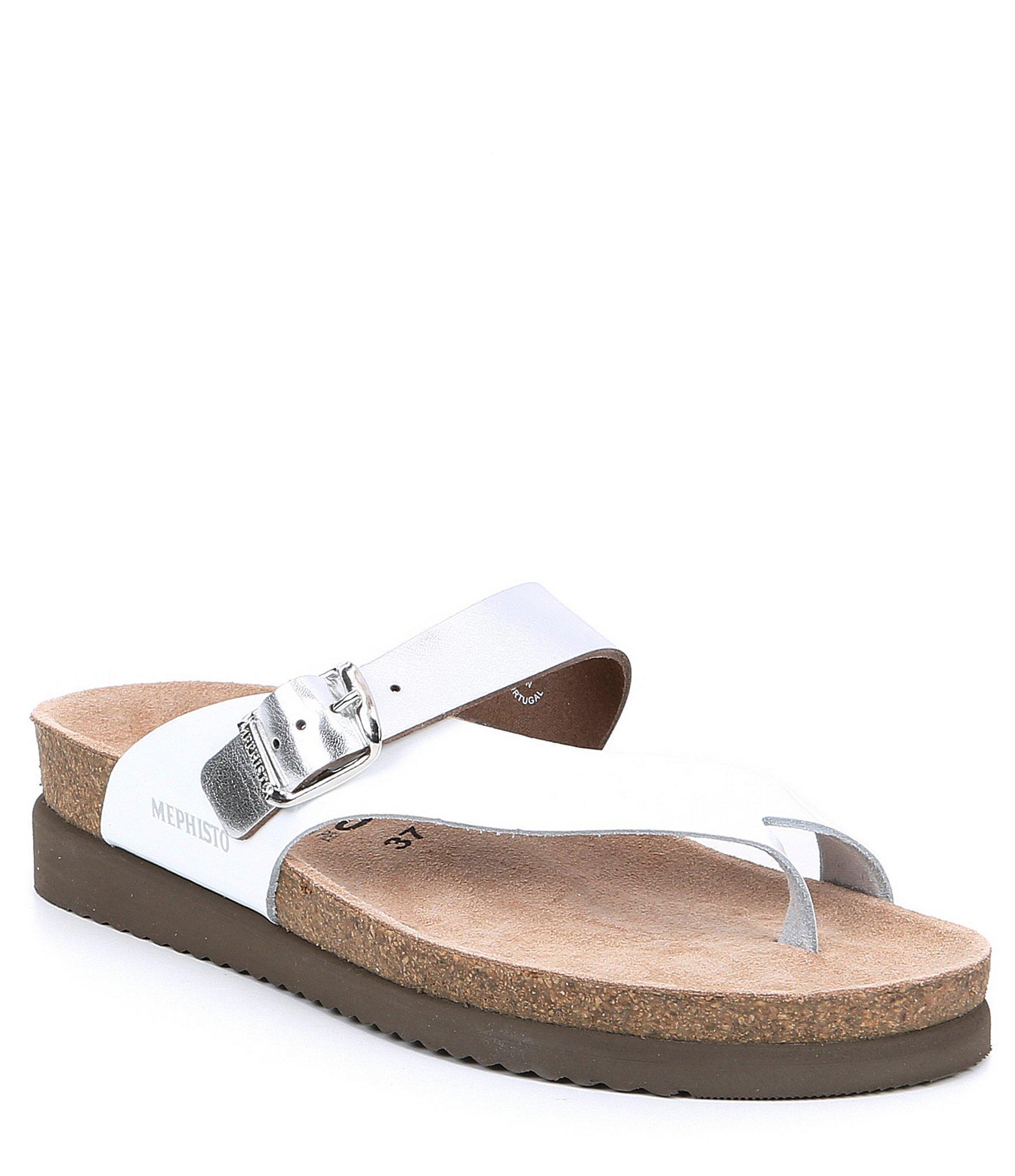 7e7ff60b11 Mephisto - Multicolor Helen Mix Slide Thong Sandals - Lyst. View fullscreen