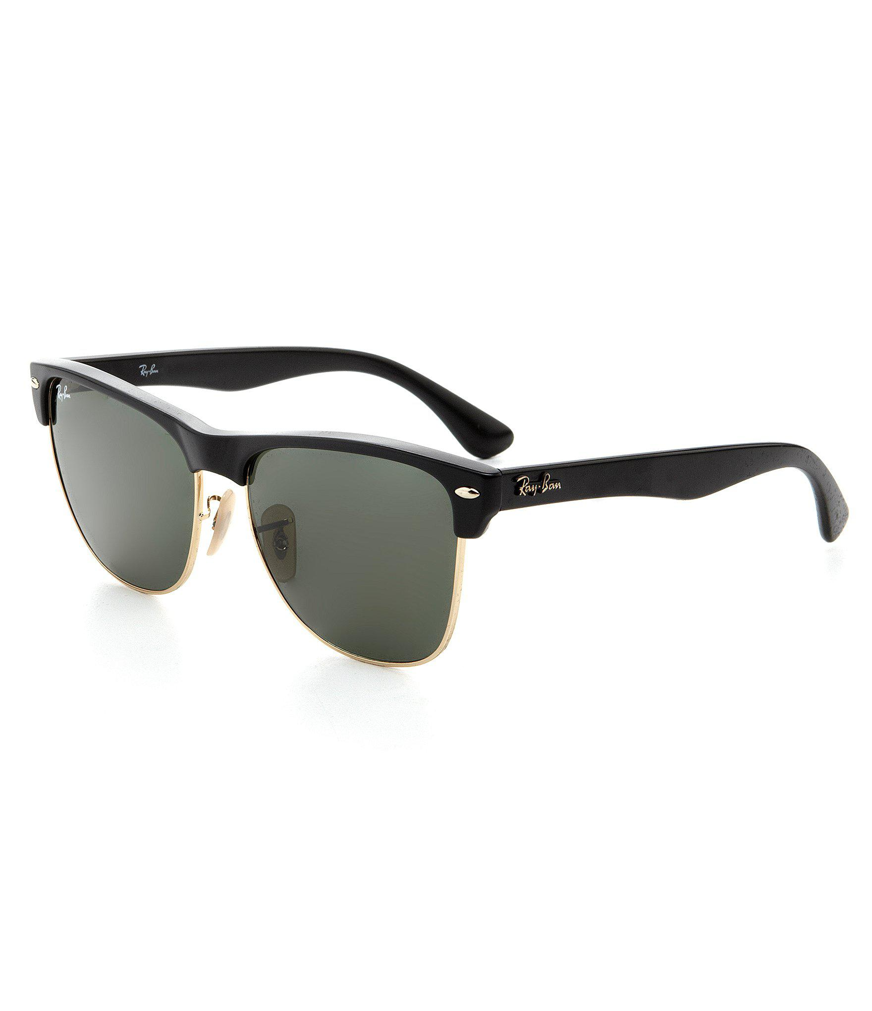 6eb1dcfc189 Lyst - Ray-Ban Iconic Clubmaster Sunglasses in Black for Men - Save 44%
