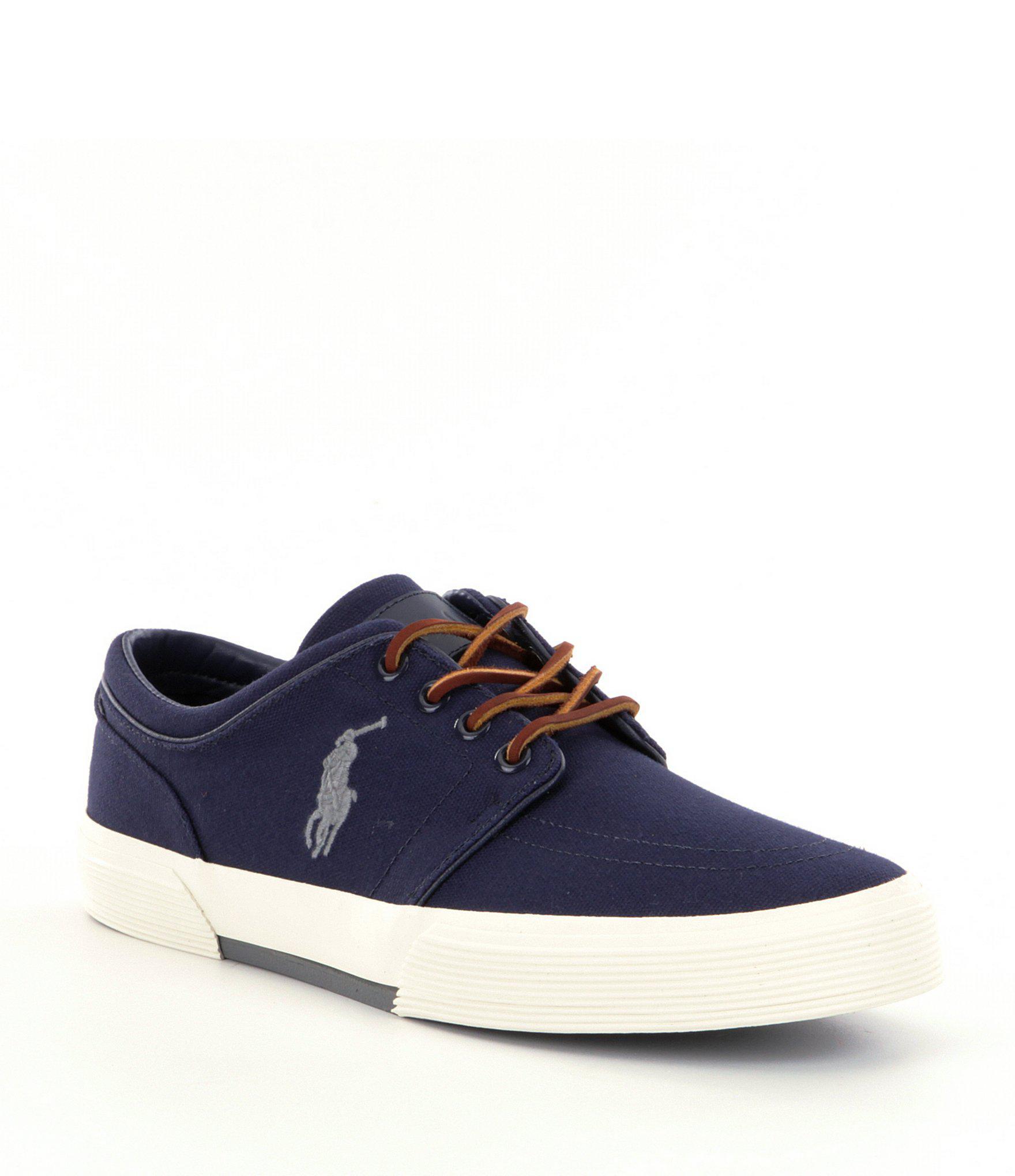 d0489f48b55 Lyst - Polo Ralph Lauren Faxon Men ́s Lace-up Shoes in Blue for Men