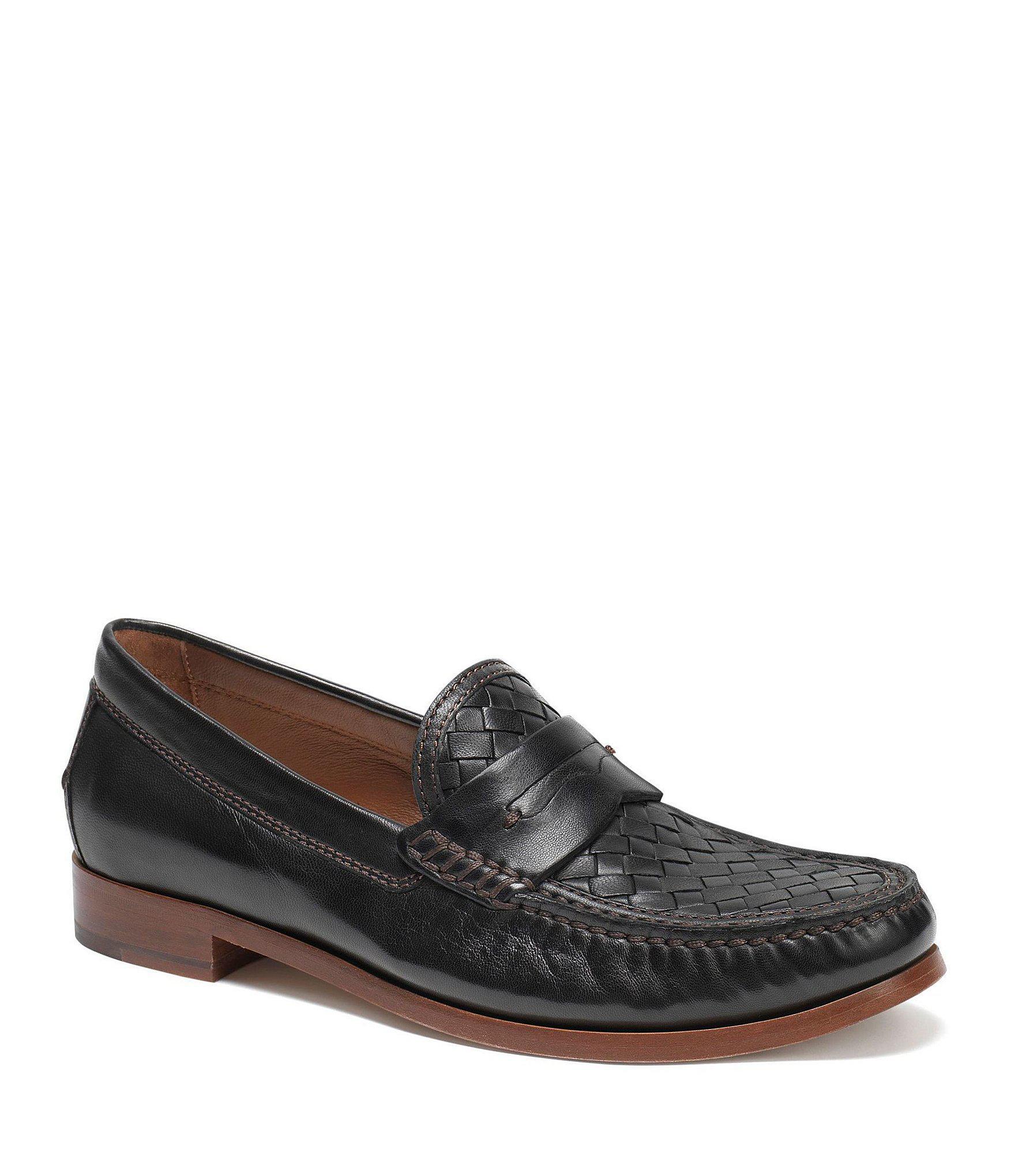 738301d75f1 Lyst - Trask Men s Slade Woven Loafers in Black for Men