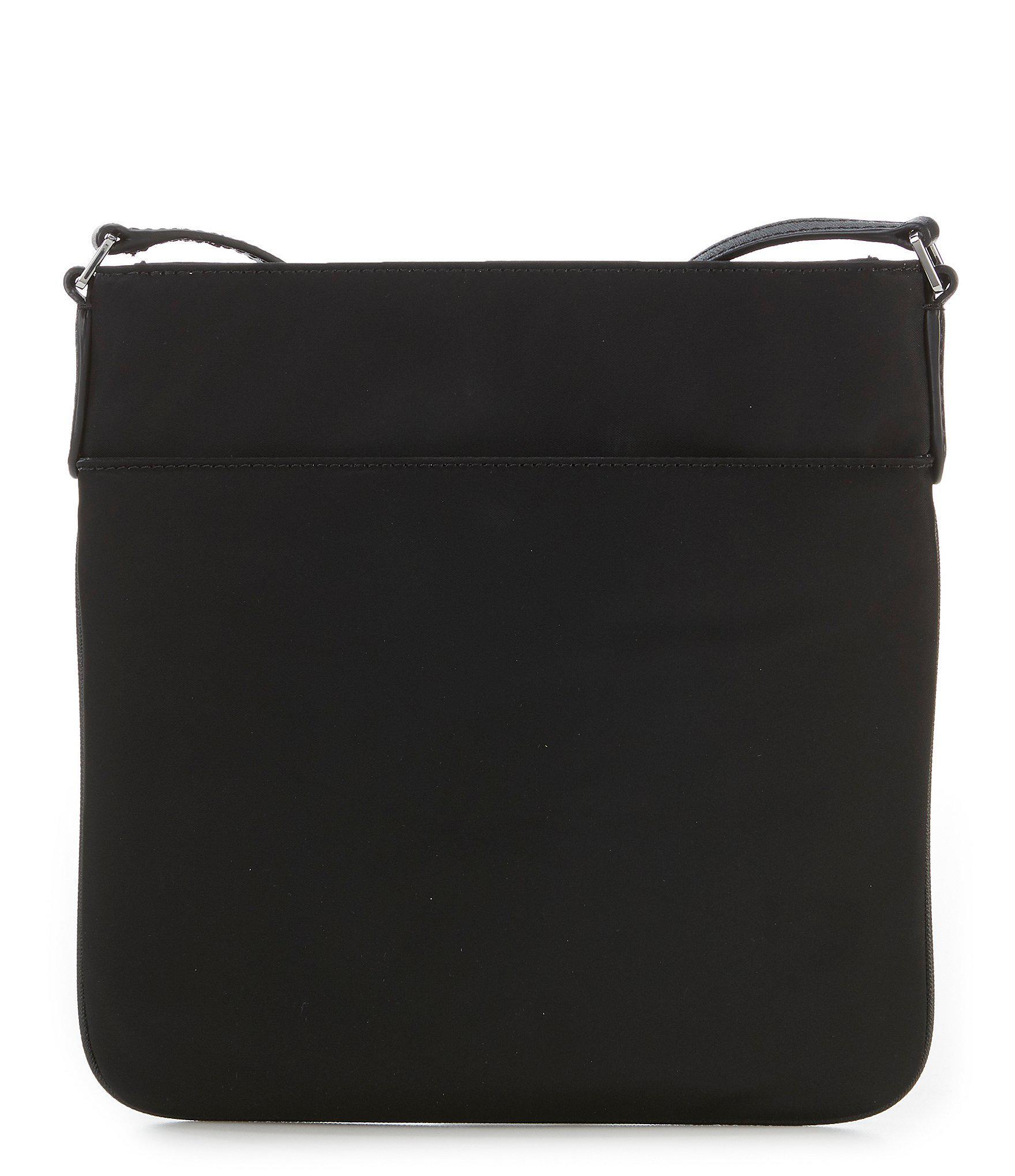 f2901eeac4 MICHAEL Michael Kors - Black Kelsey Nylon Large Cross-body Bag - Lyst. View  fullscreen