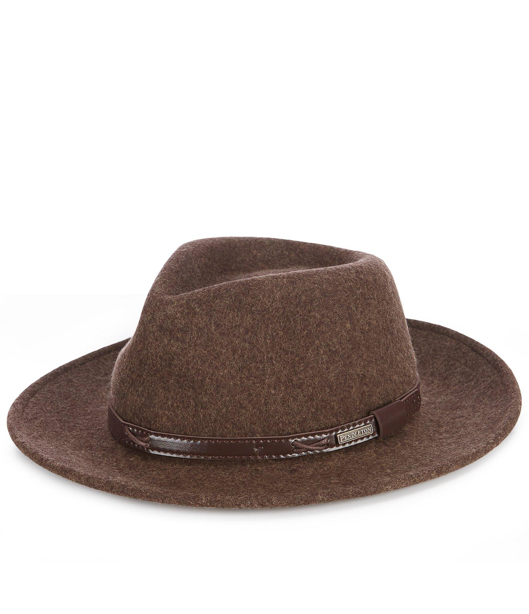 d312bdc179c Pendleton - Green Indiana Jones Water-repellent Wool Felt Hat for Men - Lyst.  View fullscreen