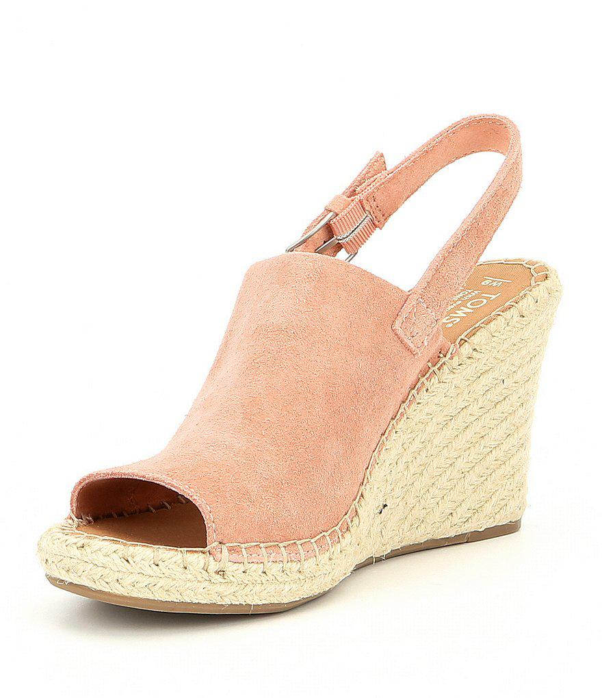 Monica Chambray Wedge Espadrille Sandals KXuUHPR