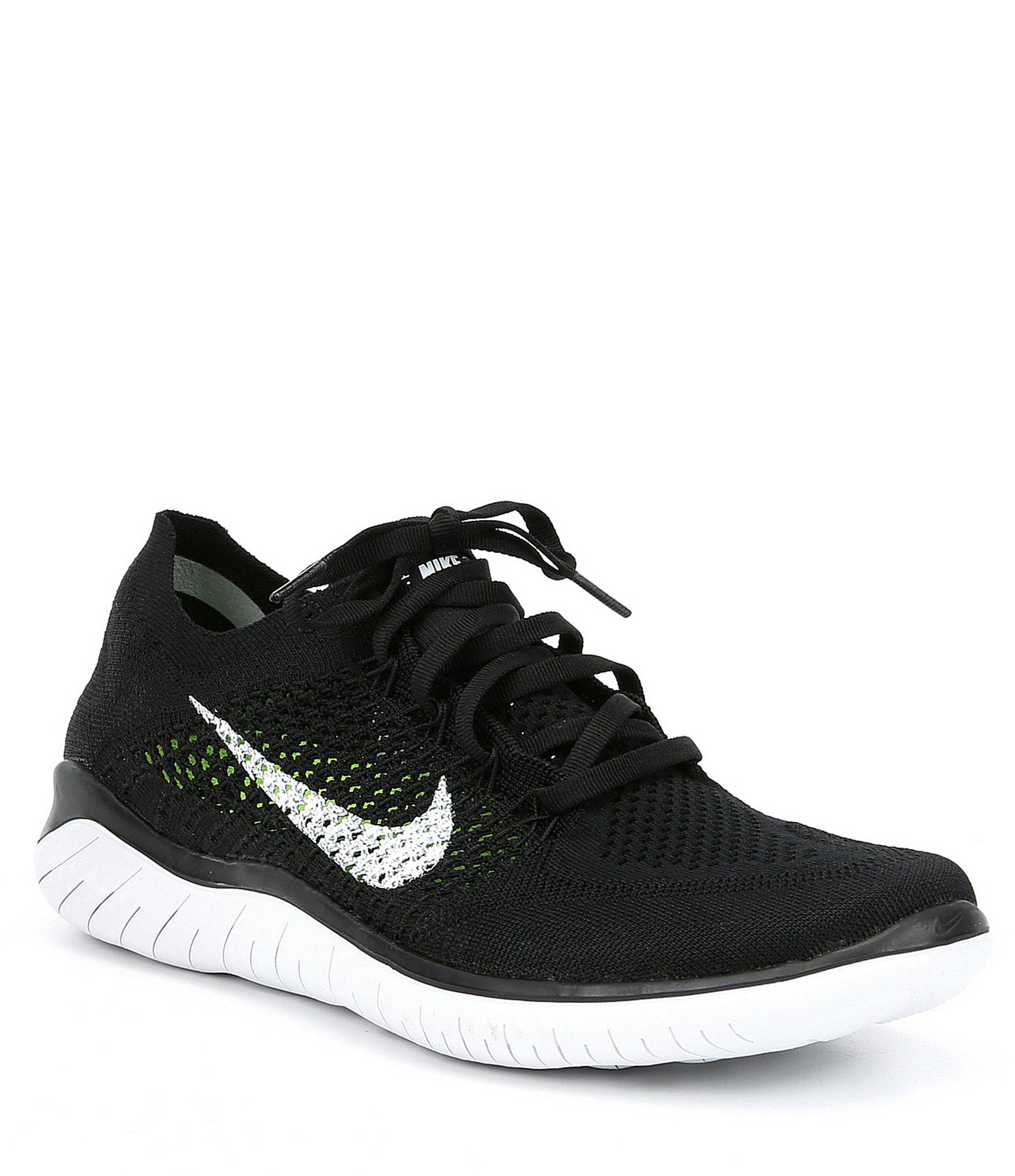 ca32904a4fed Lyst - Nike Men s Free Rn Flyknit Running Shoes in Black for Men