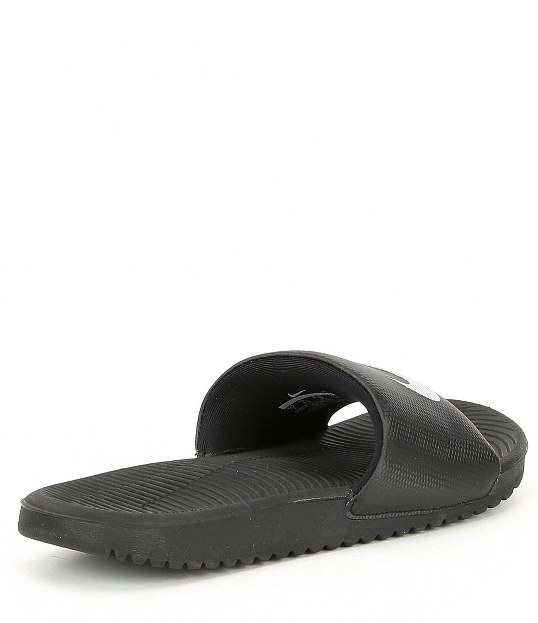 03ab0f632 Lyst - Nike Women s Kawa Soft Synthetic Banded Lightweight Slide-on ...