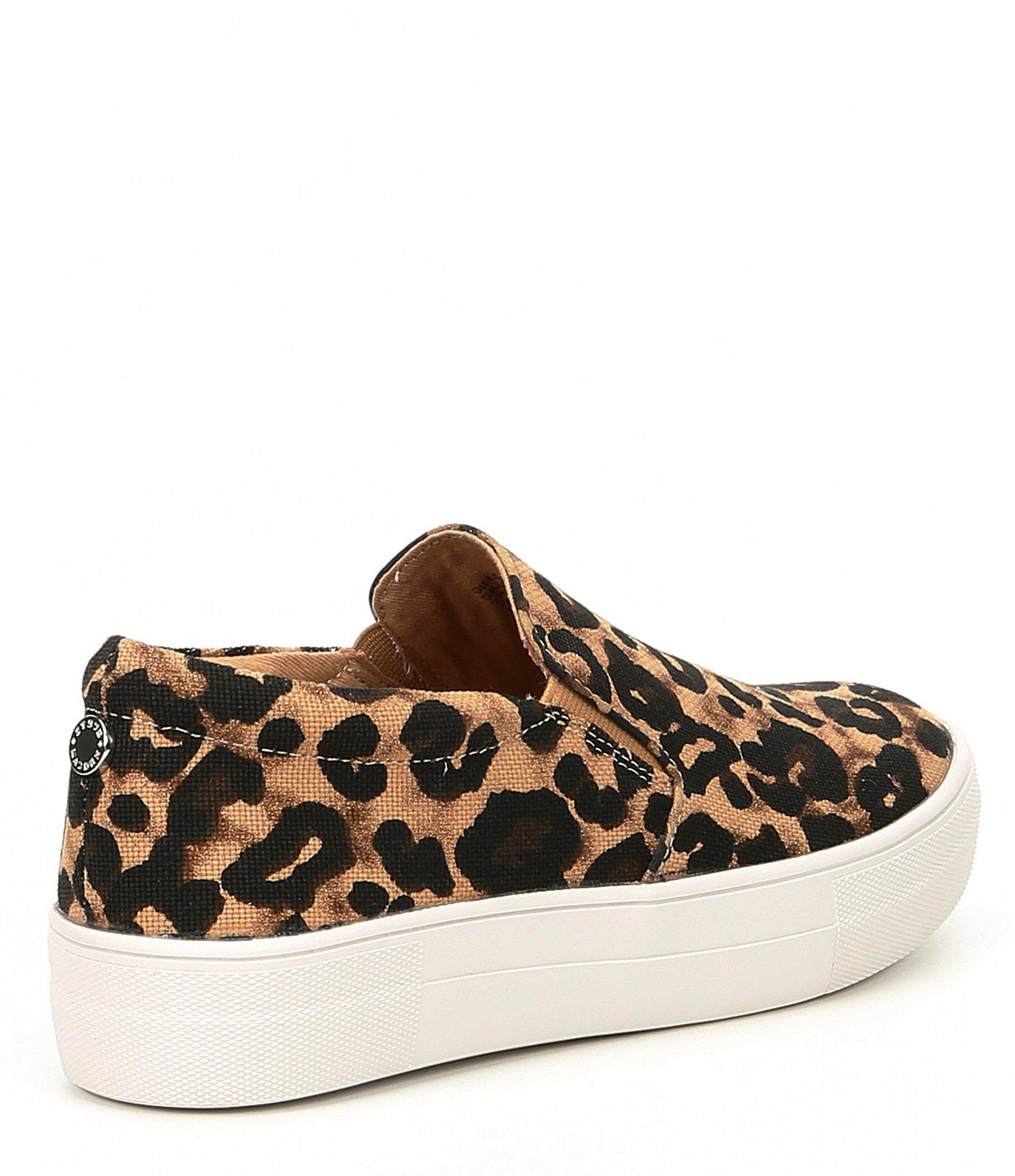 49016b6fe3b1 ... Brown Gills Leopard Print Platform Sneakers - Lyst. View fullscreen
