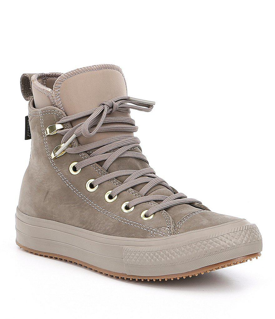9c9cac1fd651 Lyst - Converse Women S Chuck Taylor All Star Waterproof Boot Hi Top ...