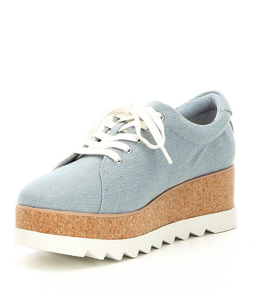 Ibywia Cork Wedge Sneakers Hpsw3G