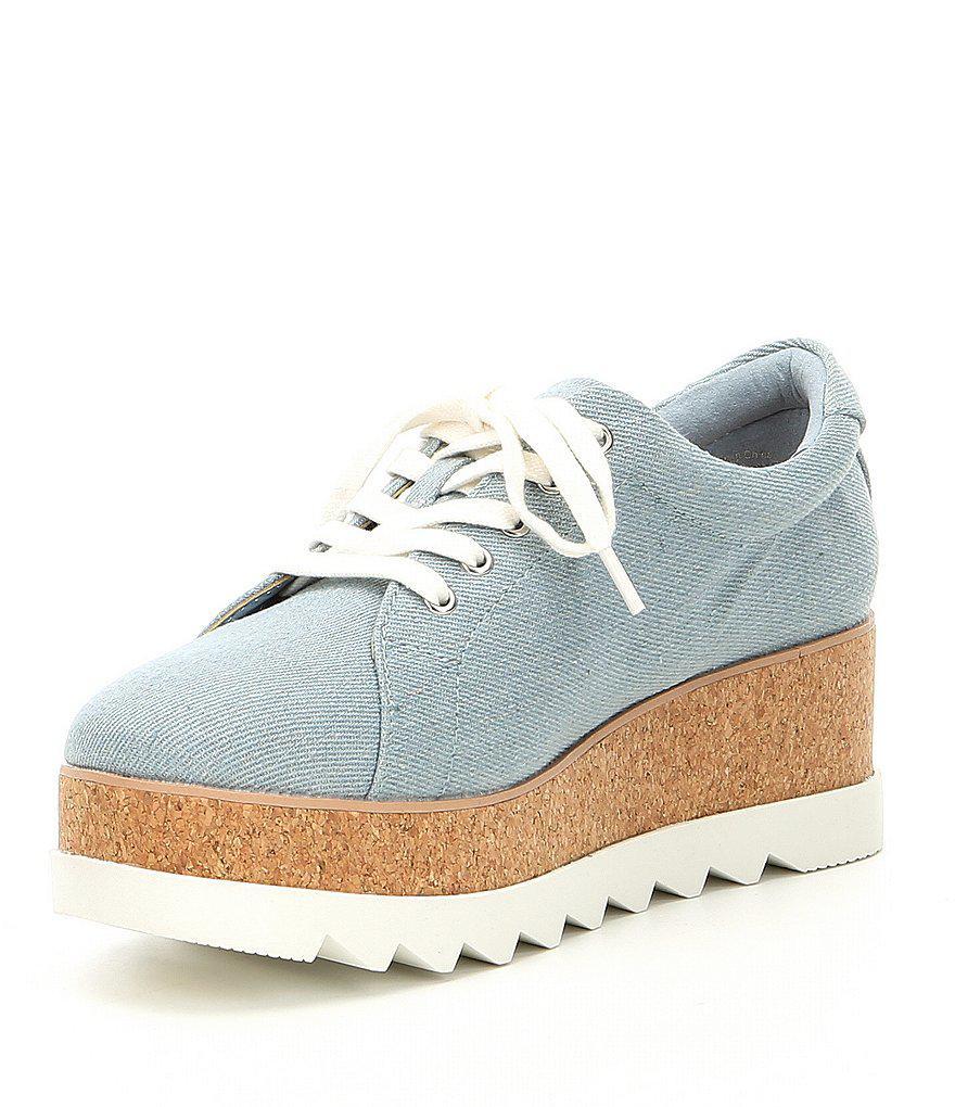 Ibywia Cork Wedge Sneakers eazqcvx1