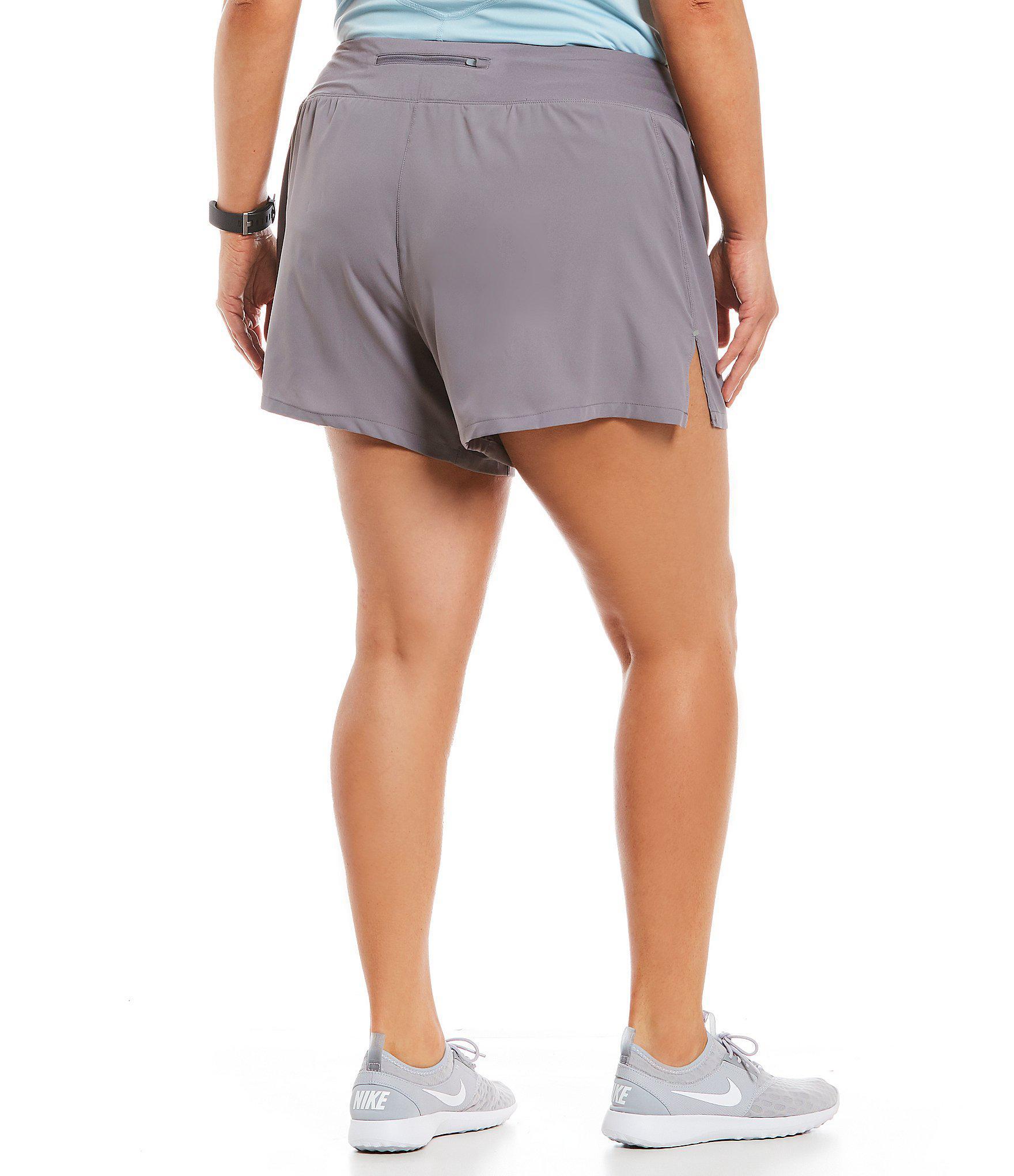 557d445de7c1 Nike - Gray Flex Running Shorts - Lyst. View fullscreen