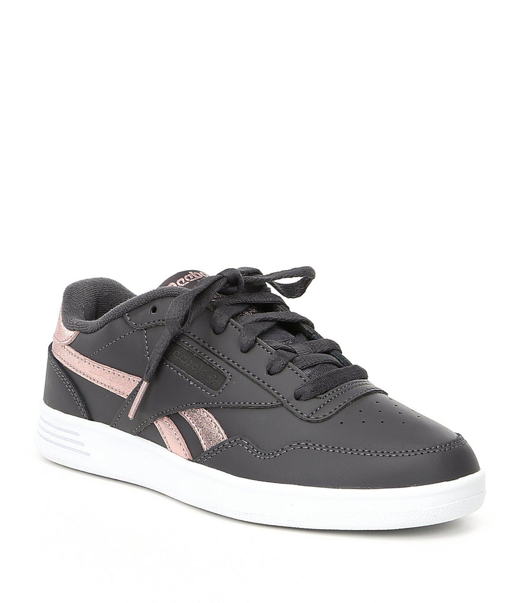 b331a152a249 Lyst - Reebok Women s Club Memt Shoes in Gray