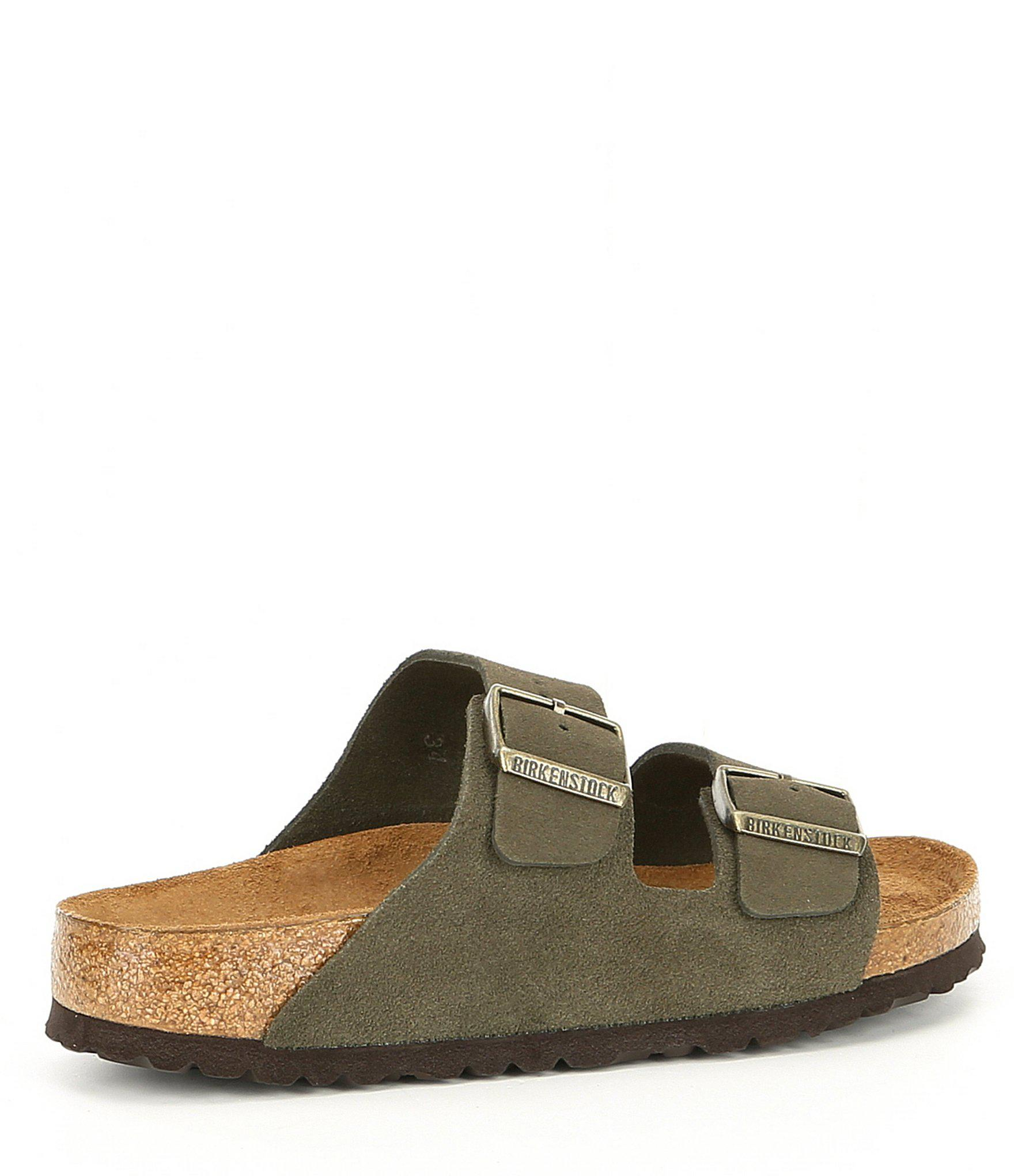 53cff6edec86 Birkenstock - Multicolor Arizona Soft Footbed Suede Slide Sandals - Lyst.  View fullscreen