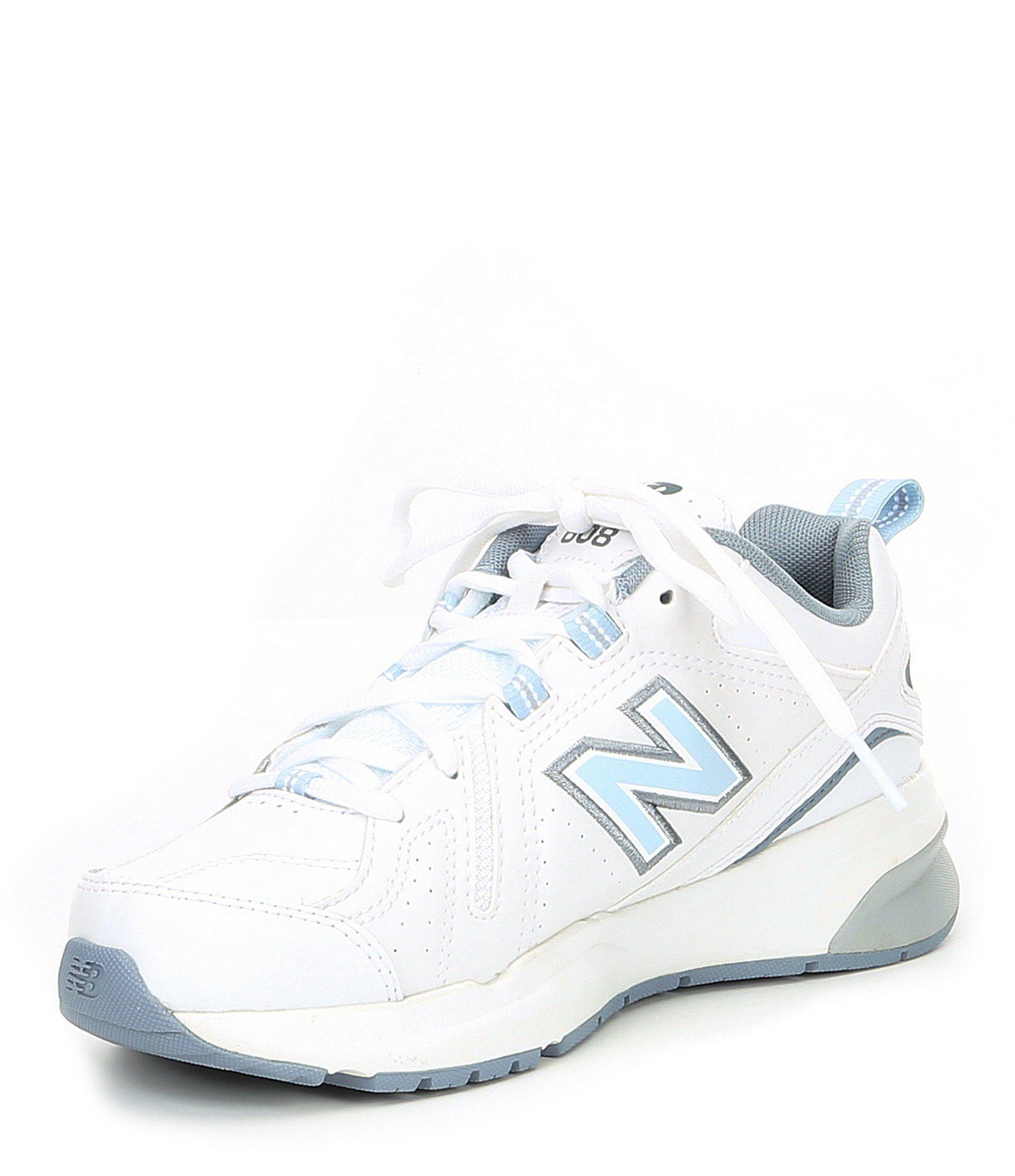 3b84f4012983 Lyst - New Balance Women s 608 V5 Training Shoe in Blue