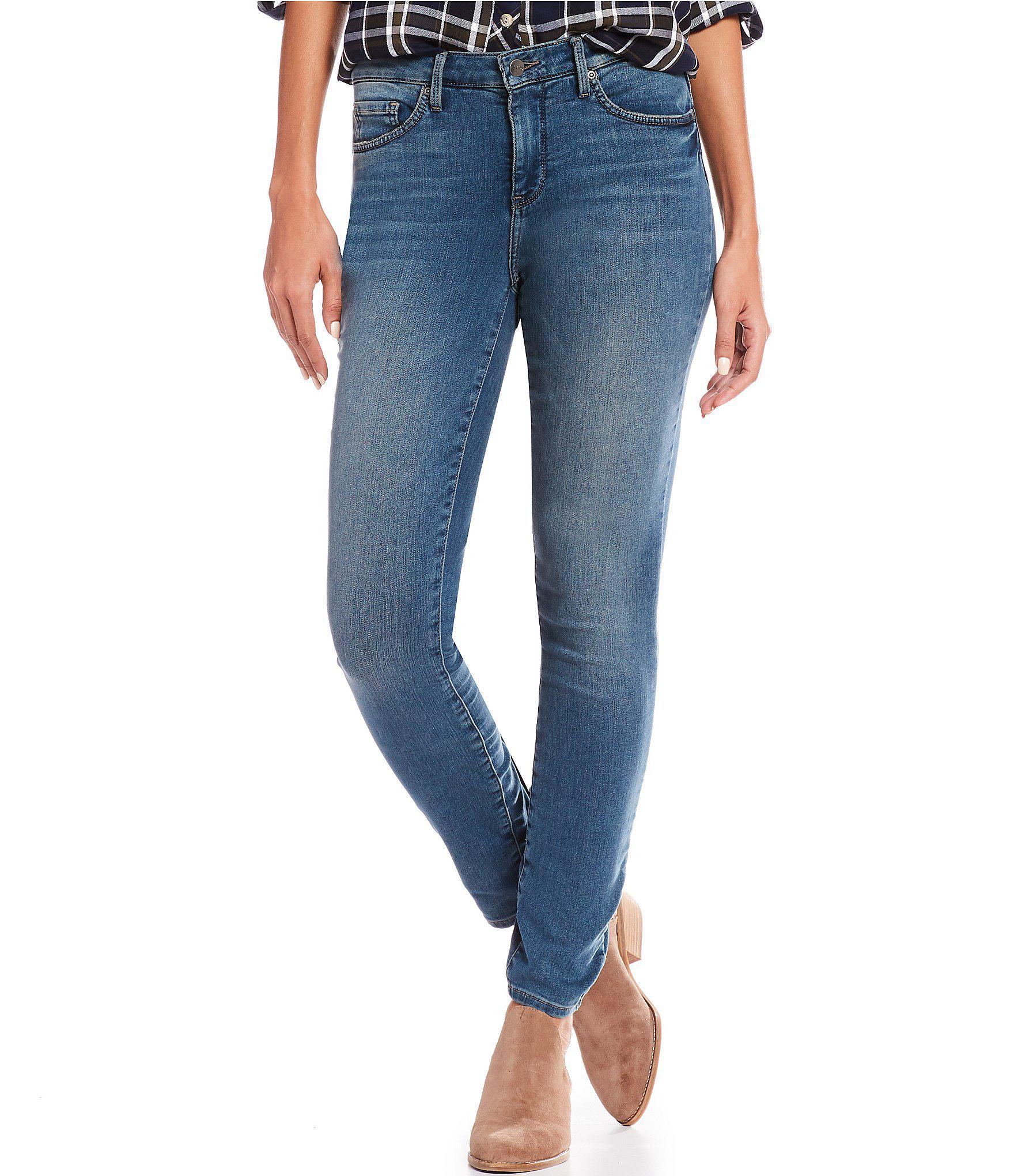da6ab80abb Lyst - NYDJ Uplift Ami Skinny Leg Jeans In Future Fit Denim in Blue