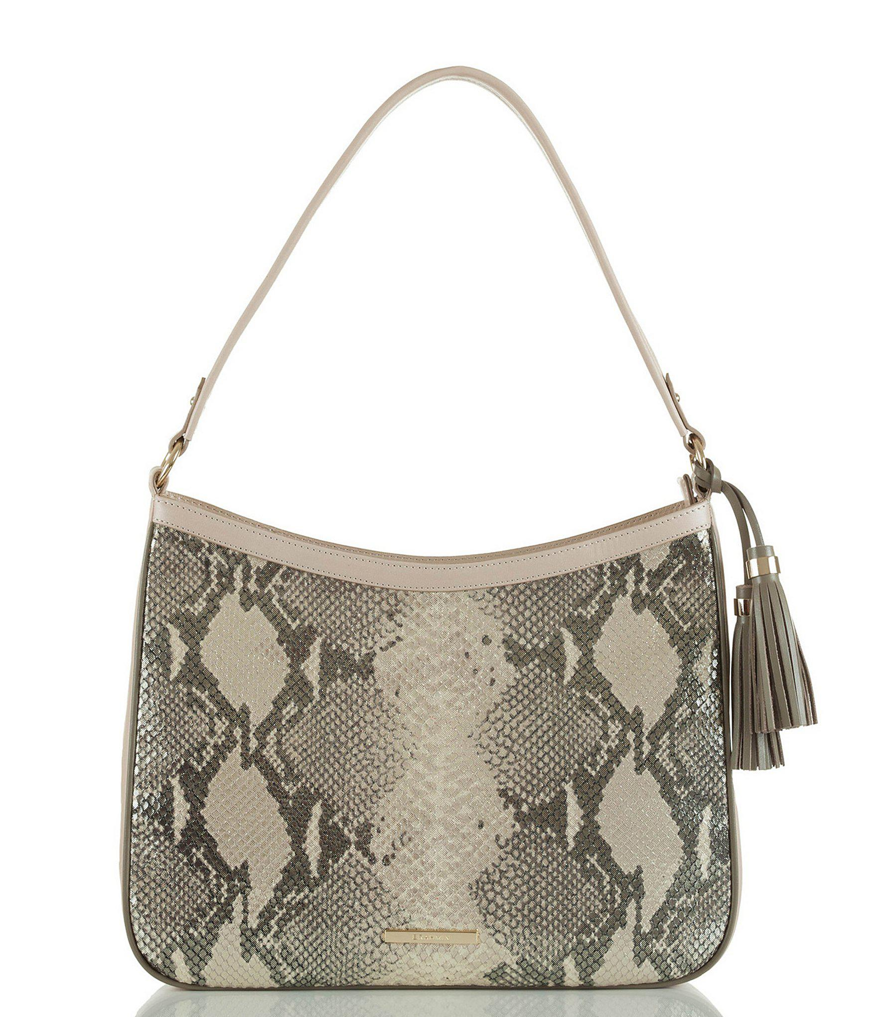 2014cb999b Brahmin. Women s Sand Beck Collection Noelle Shoulder Bag