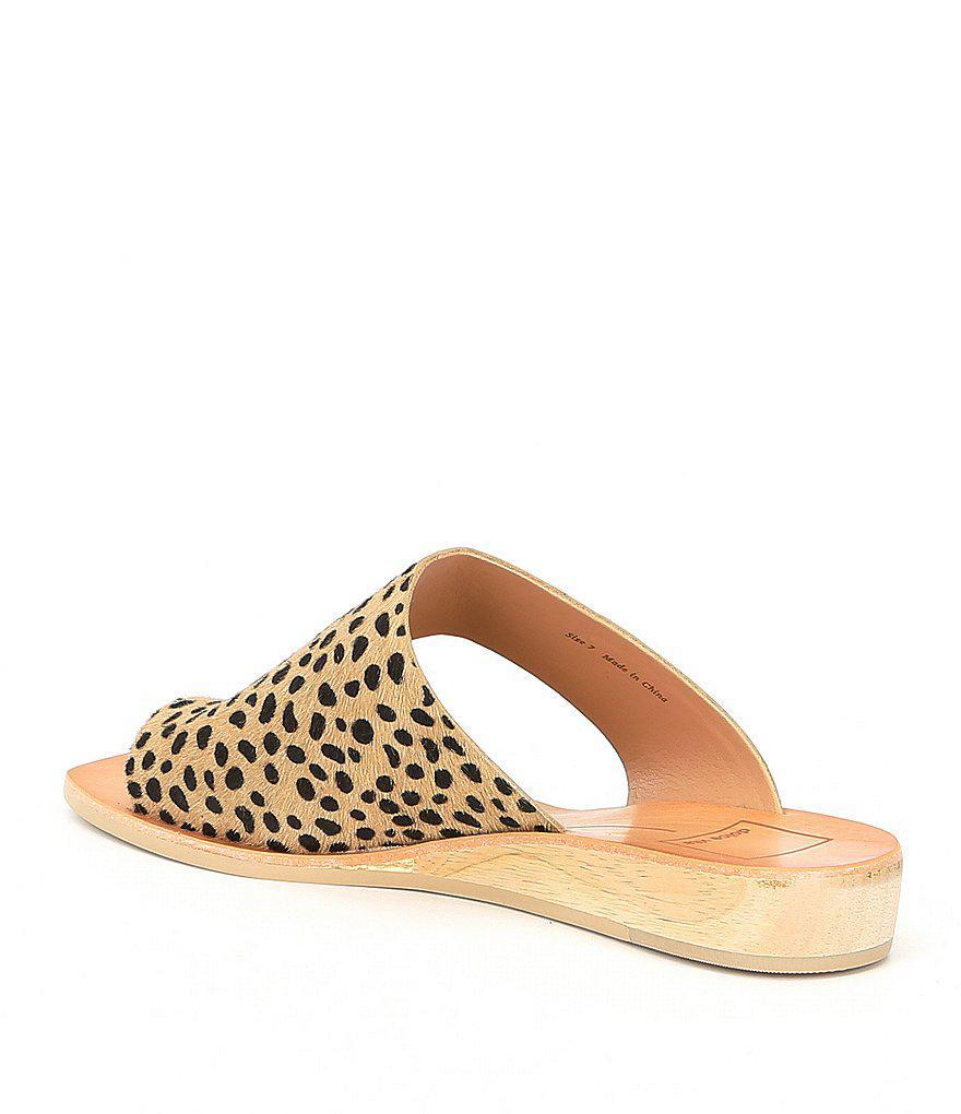 Dolce Vita Hazle Demi Wedge Sandals Zyv1o