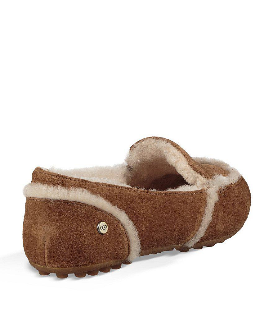 UGG® Hailey Suede Slippers HSKN0