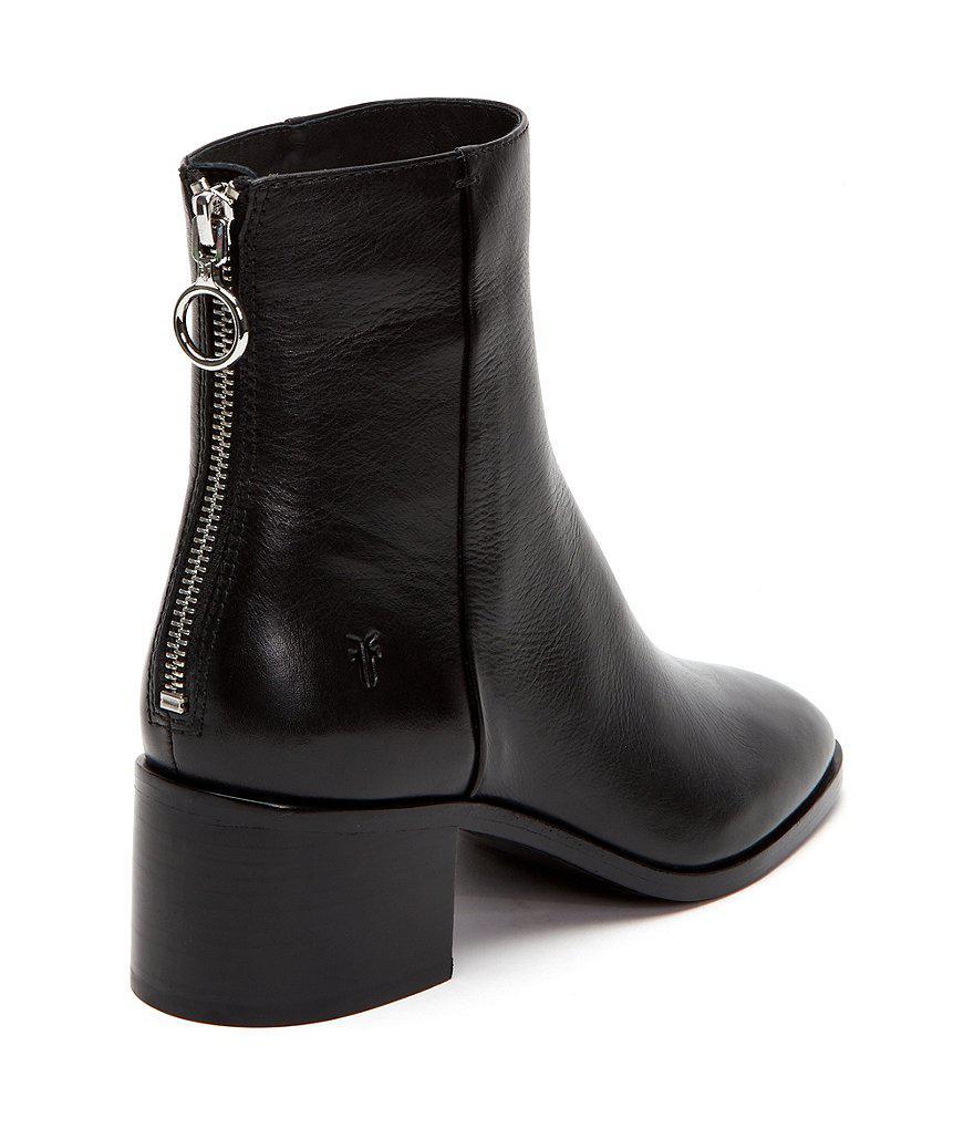 Emilia Short Block Heel Booties 8eqXeK1