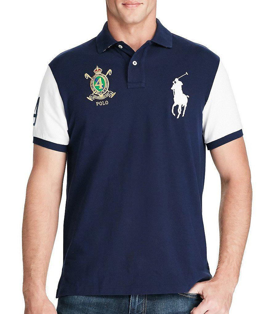 e2d31041 Lyst - Polo Ralph Lauren Classic-fit Big Pony Short-sleeve Polo ...
