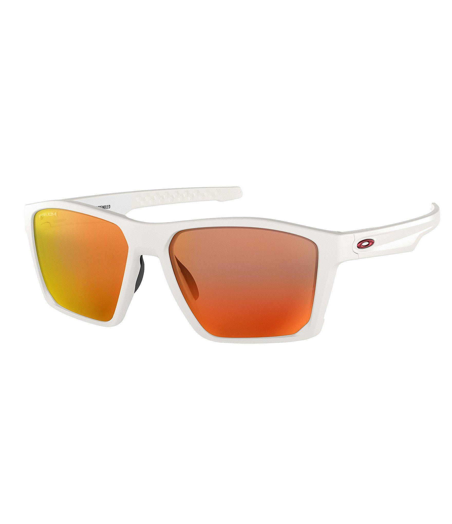 53b3e92aa2 Lyst - Oakley Mens Target Line Orange Lens Sunglasses in White for Men