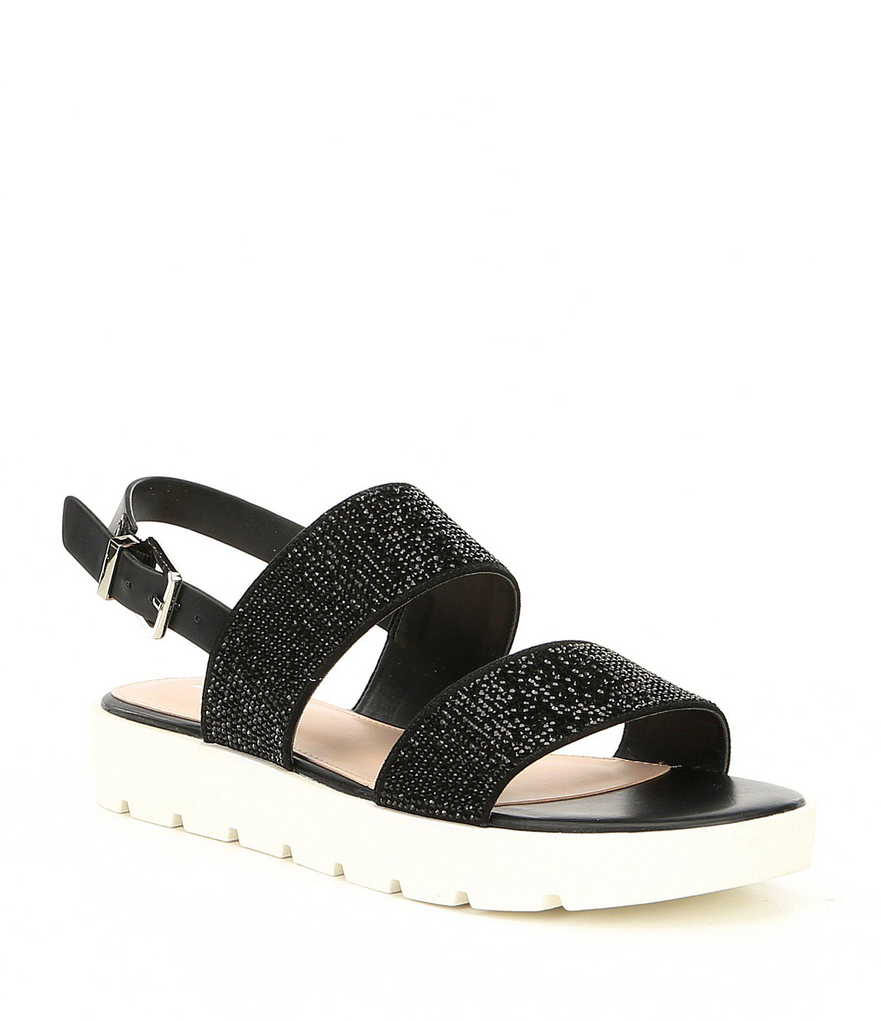 97d0668bfd10 Lyst - ALDO Eliraviel Flatform Sandals in Black