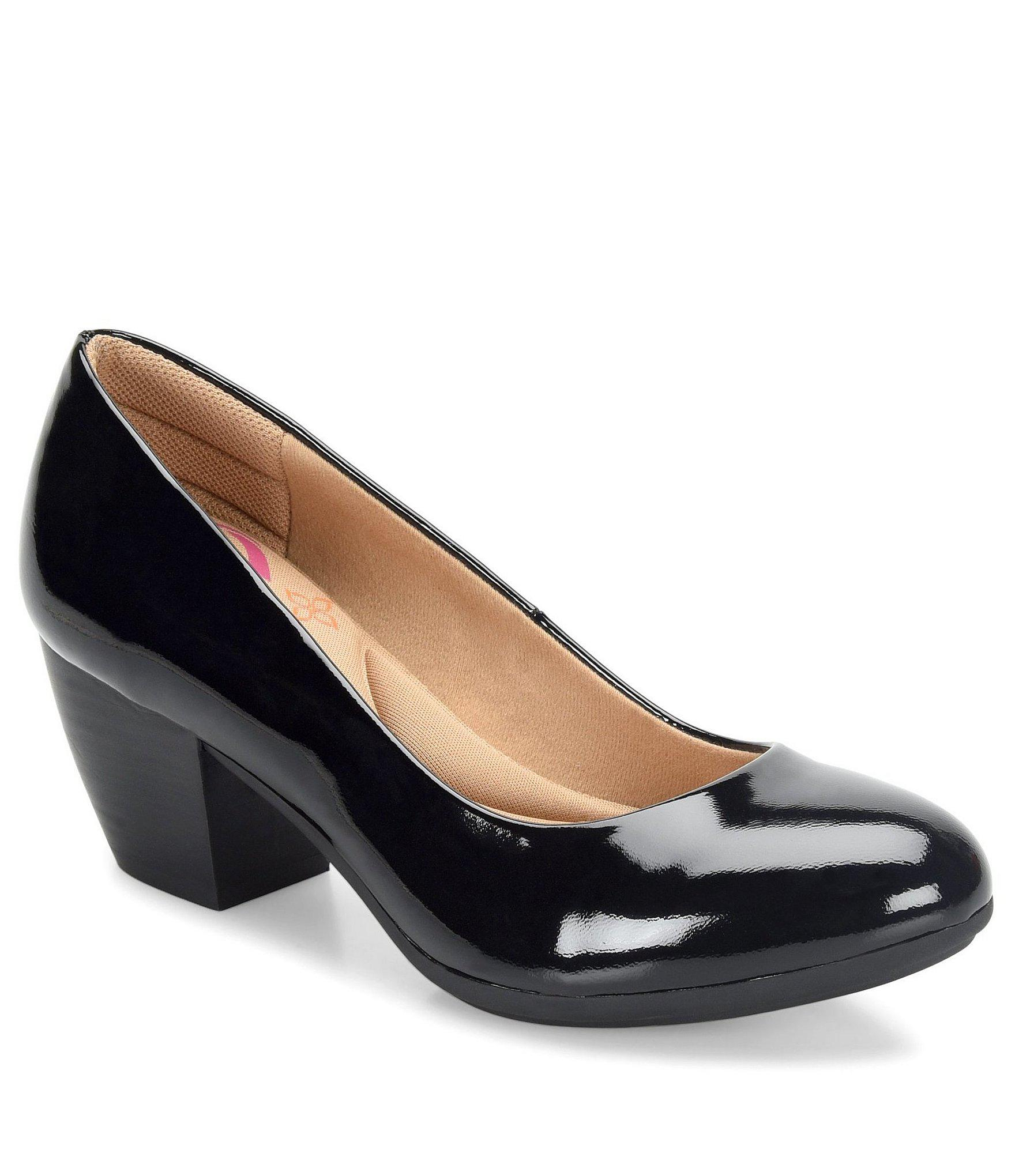 e8ac0150c4c7 Lyst - Comfortiva Amora Patent Leather Pumps in Black