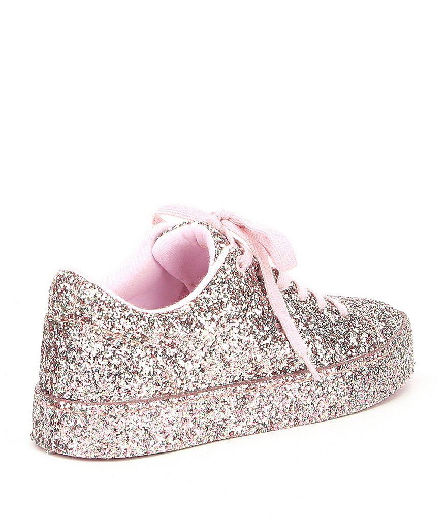 538673f867 ALDO Etilivia Glitter Sneakers in Pink - Lyst