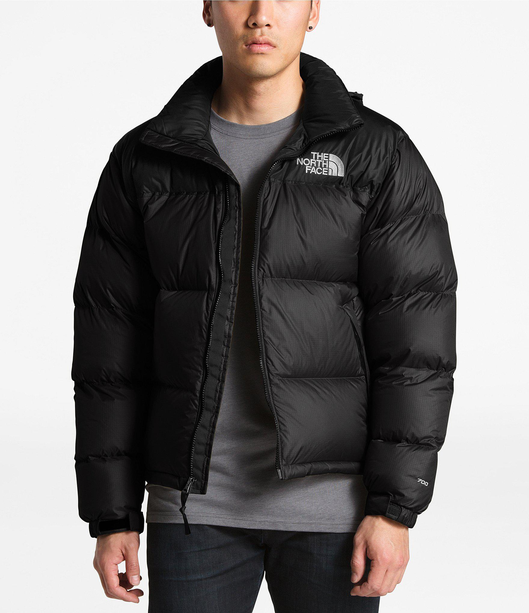 6b66e2067ce2 Lyst - The North Face Solid Nuptse Puffer Down Jacket in Black for Men