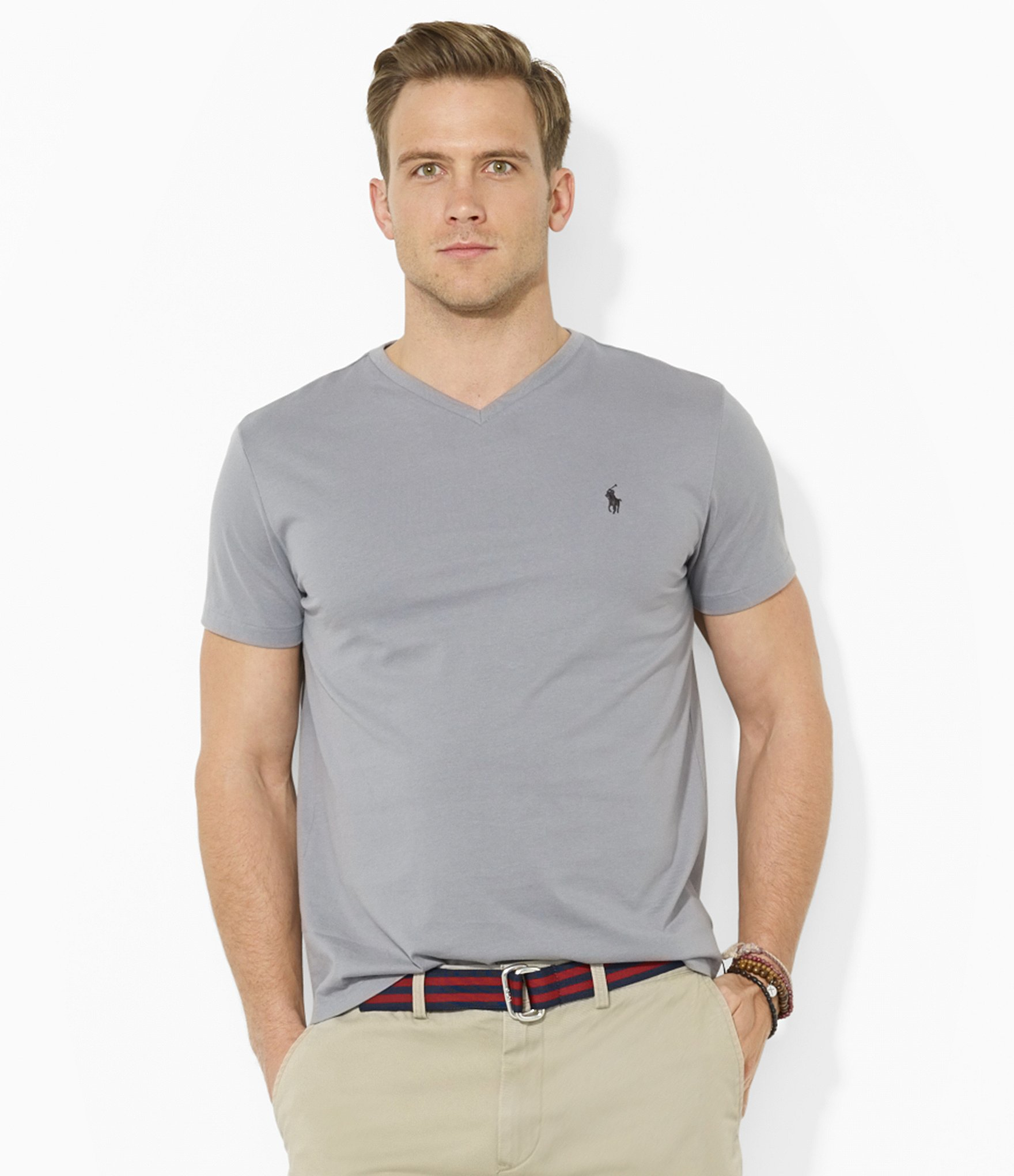 Grey v neck tee outlet polo sell ralph lauren shirtspolo t for What stores sell polo shirts