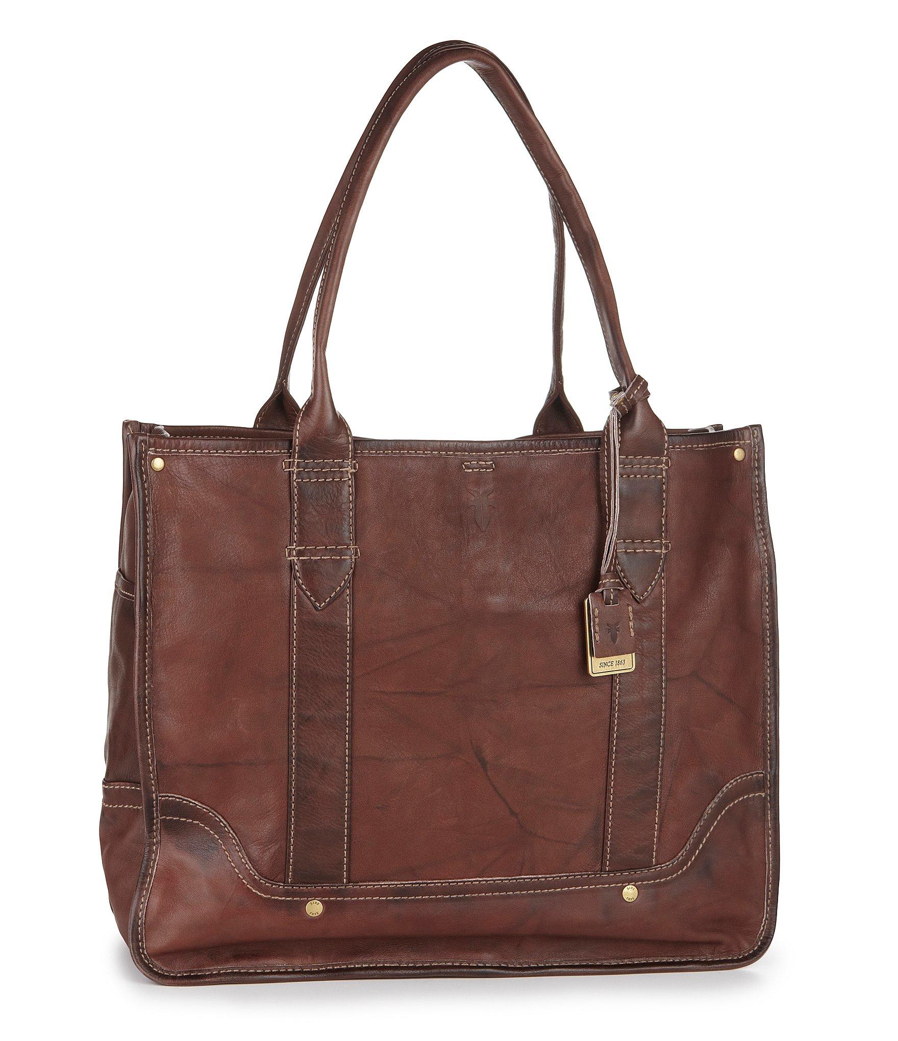 Frye Campus Shopper Tote Bag in Brown
