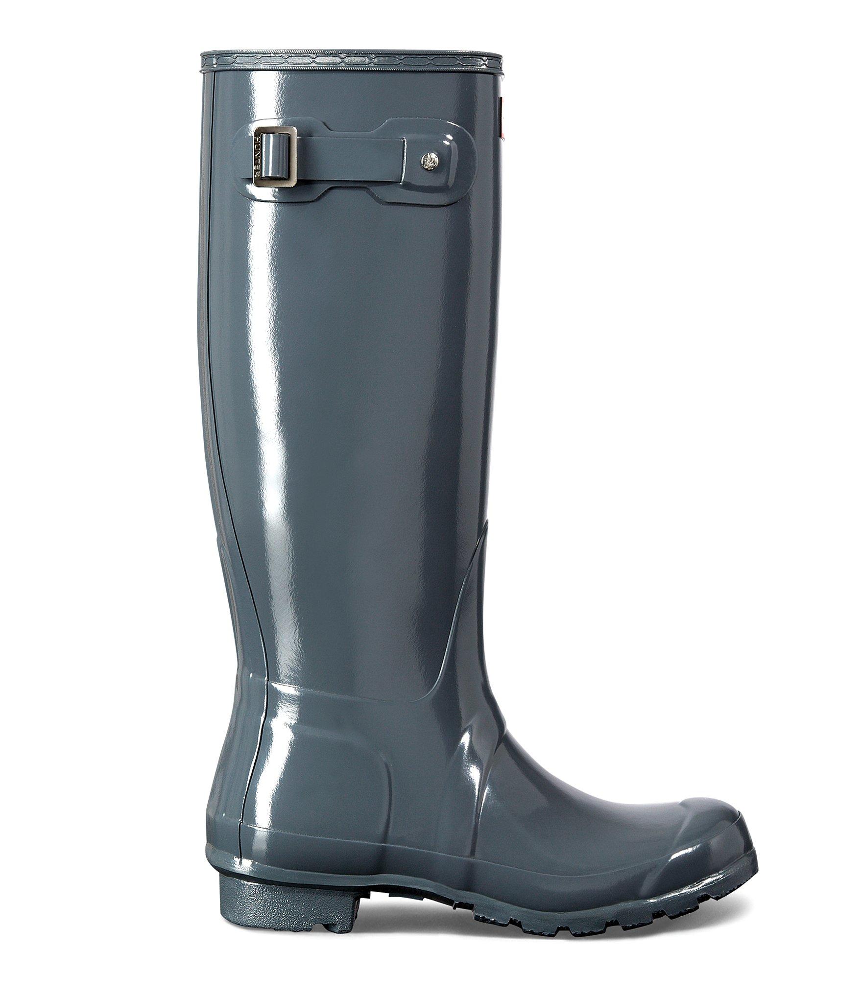 Wonderful Hunter Original Nightfall Women Rubber White Rain Boot Boots