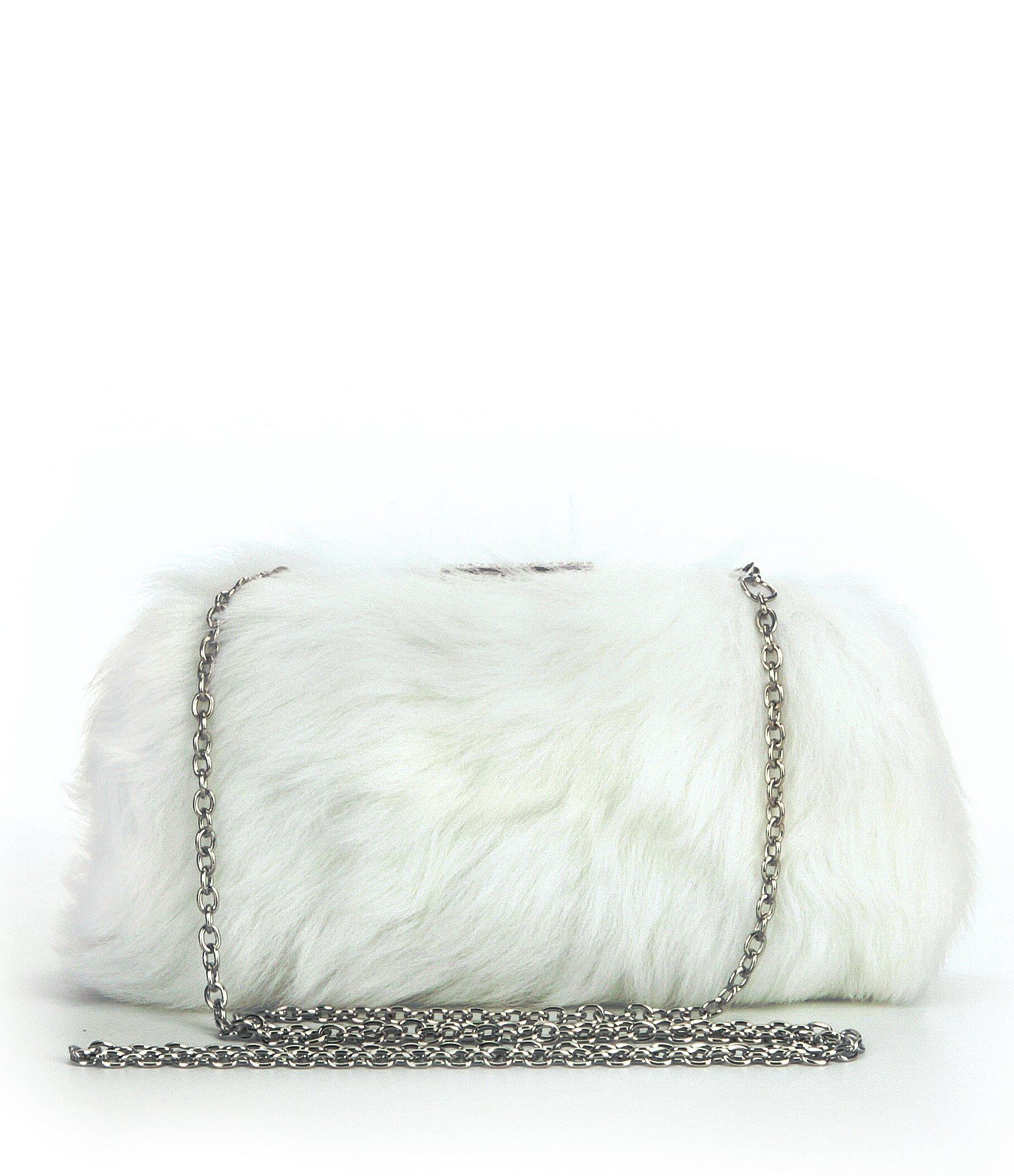 Lyst - UGG ® I Do! Everlasting Sheepskin Clutch in White eef9ec2d230d9