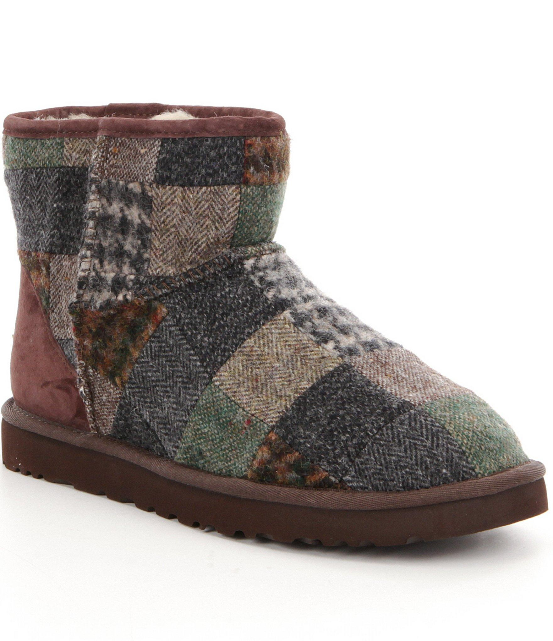 Ugg 174 Classic Mini Patchwork Men 180 S Boots For Men Lyst