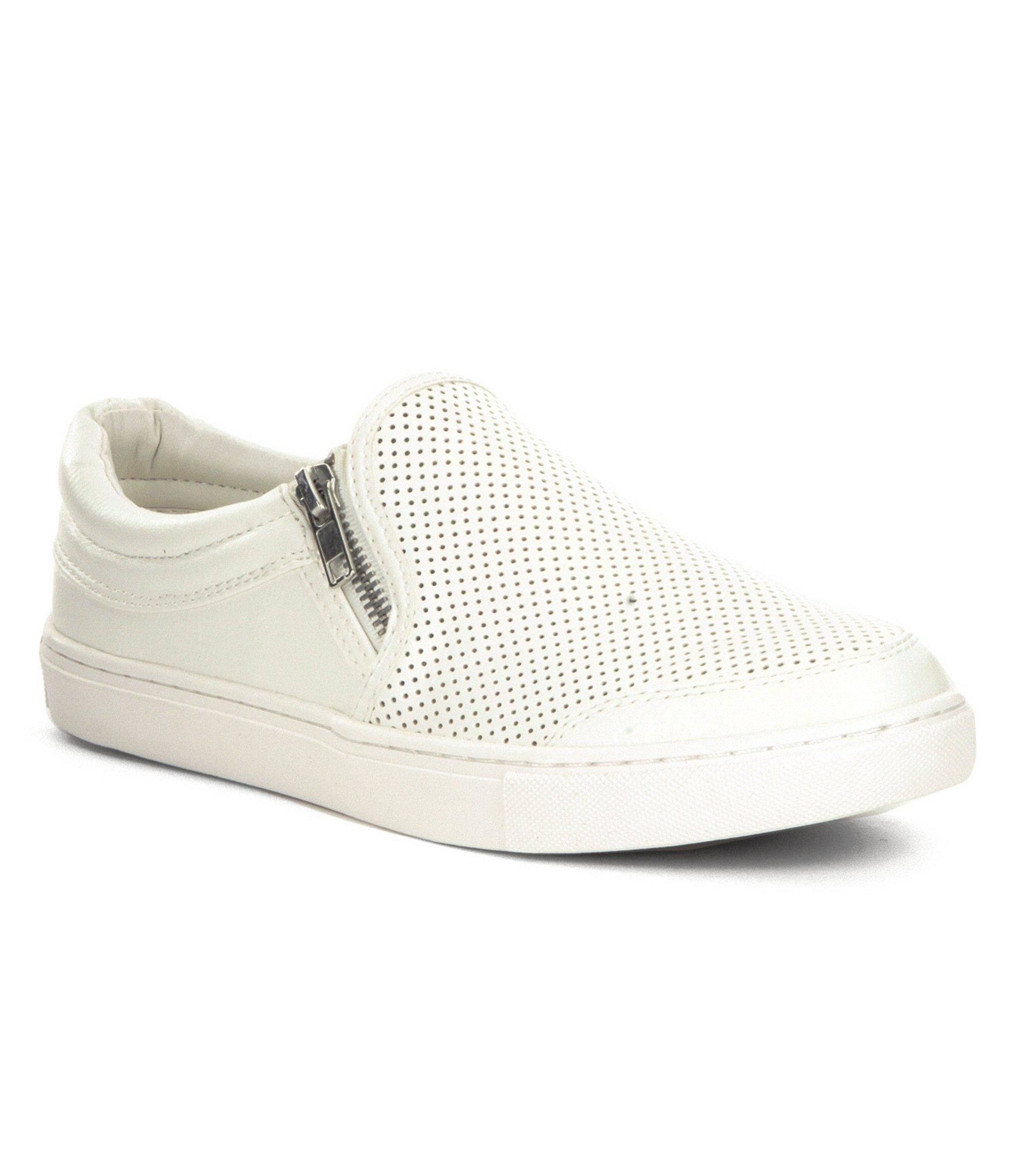 Steve madden ellias sneakers in white lyst