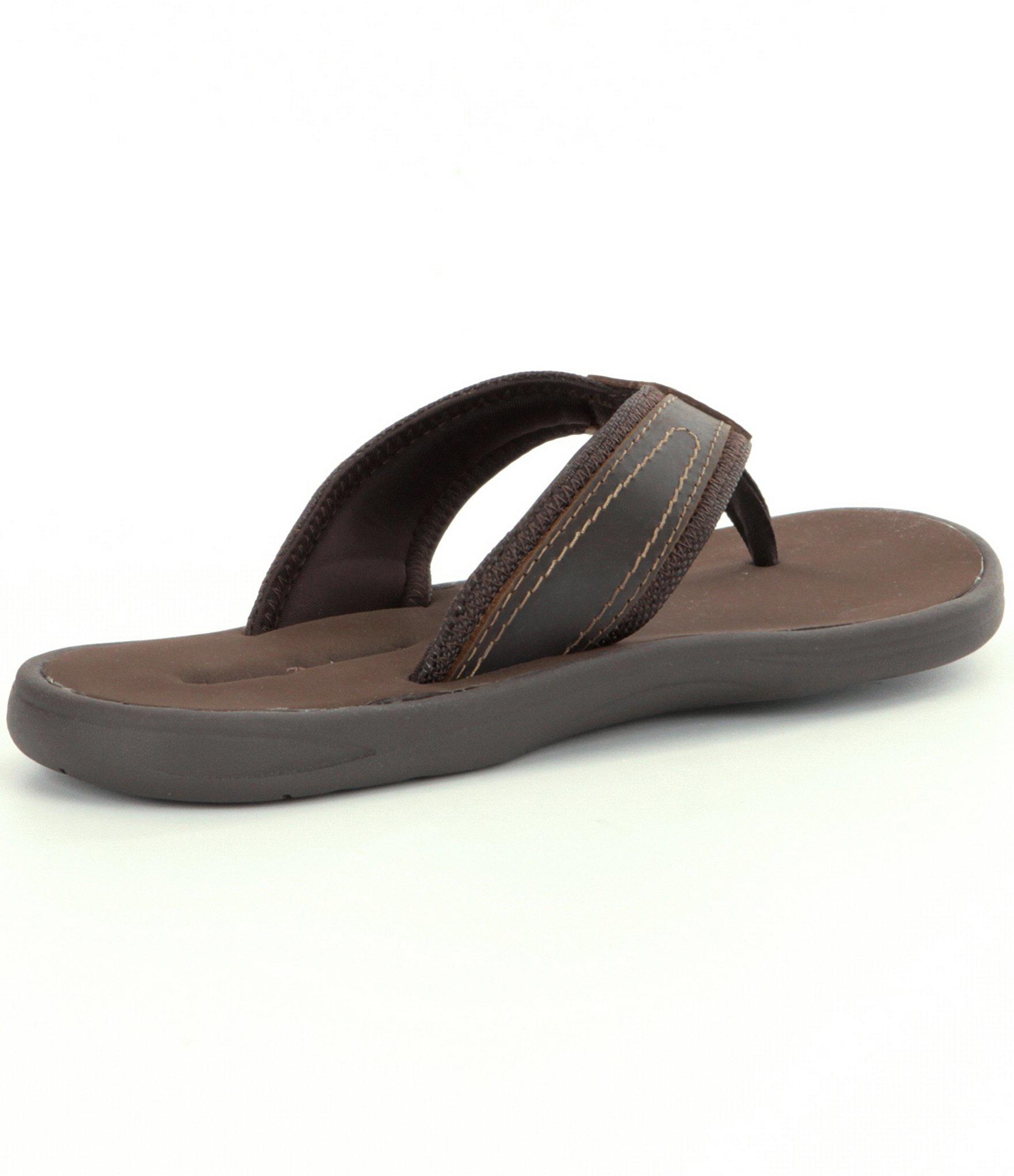 Tommy Bahama Men S Seawell Flip Flops In Brown For Men  Lyst-6095