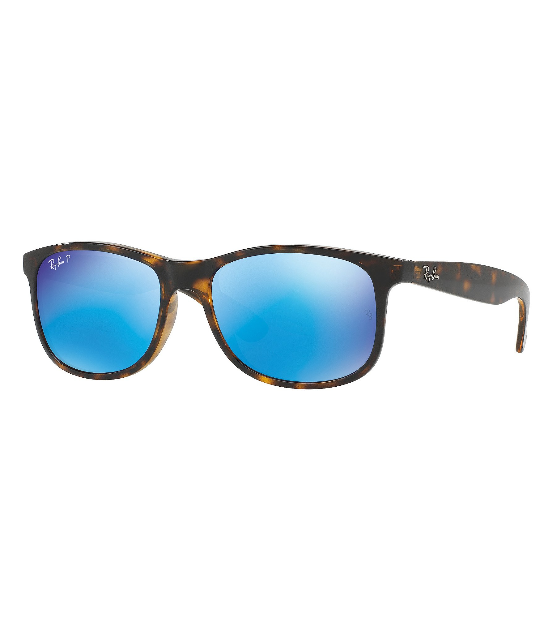 Ray Ban Flash Mirror Lens Clubmaster Sunglasses