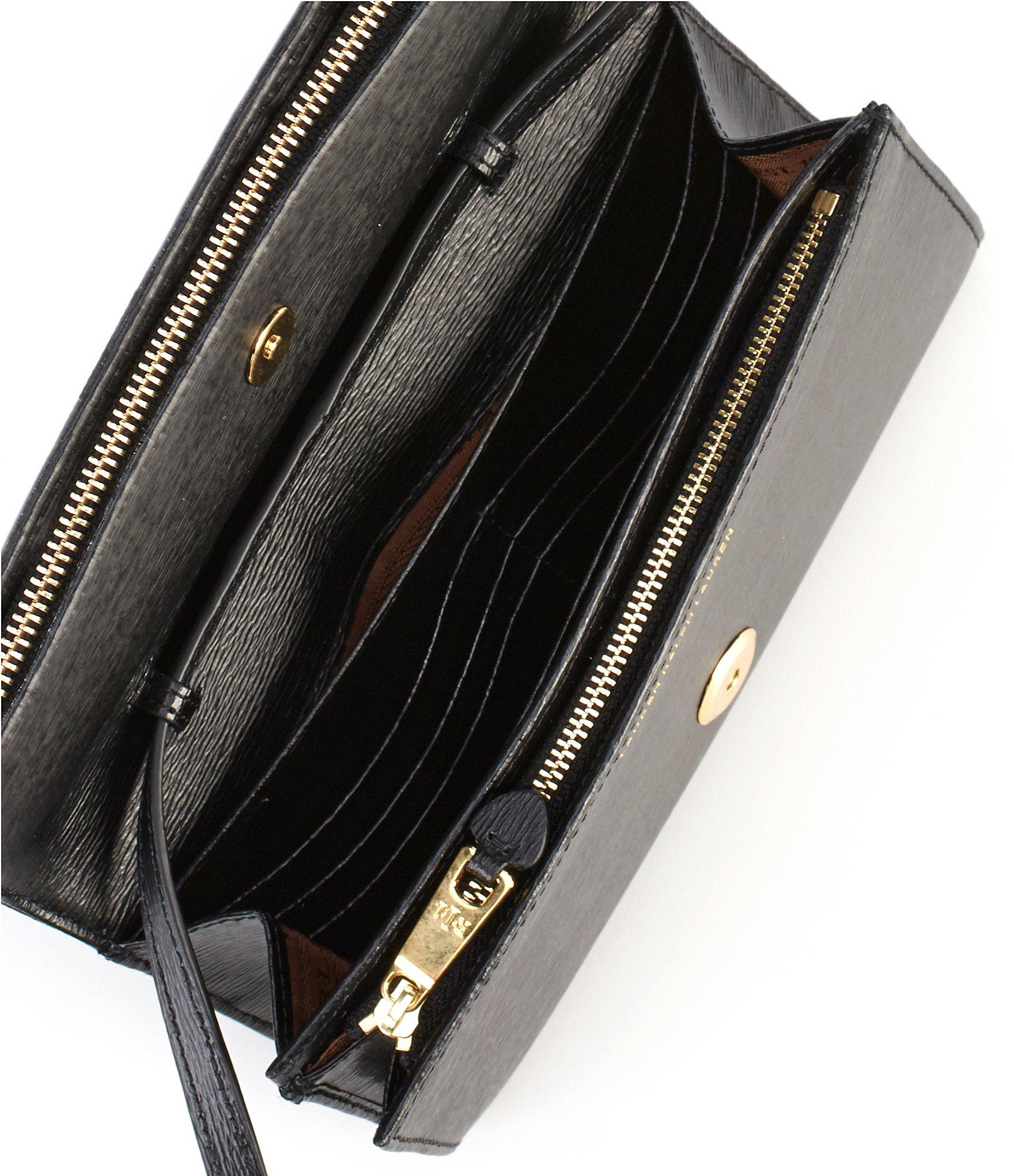 Lyst Lauren By Ralph Newbury Collection Kaelyn Mini Cross Body Bag In Black